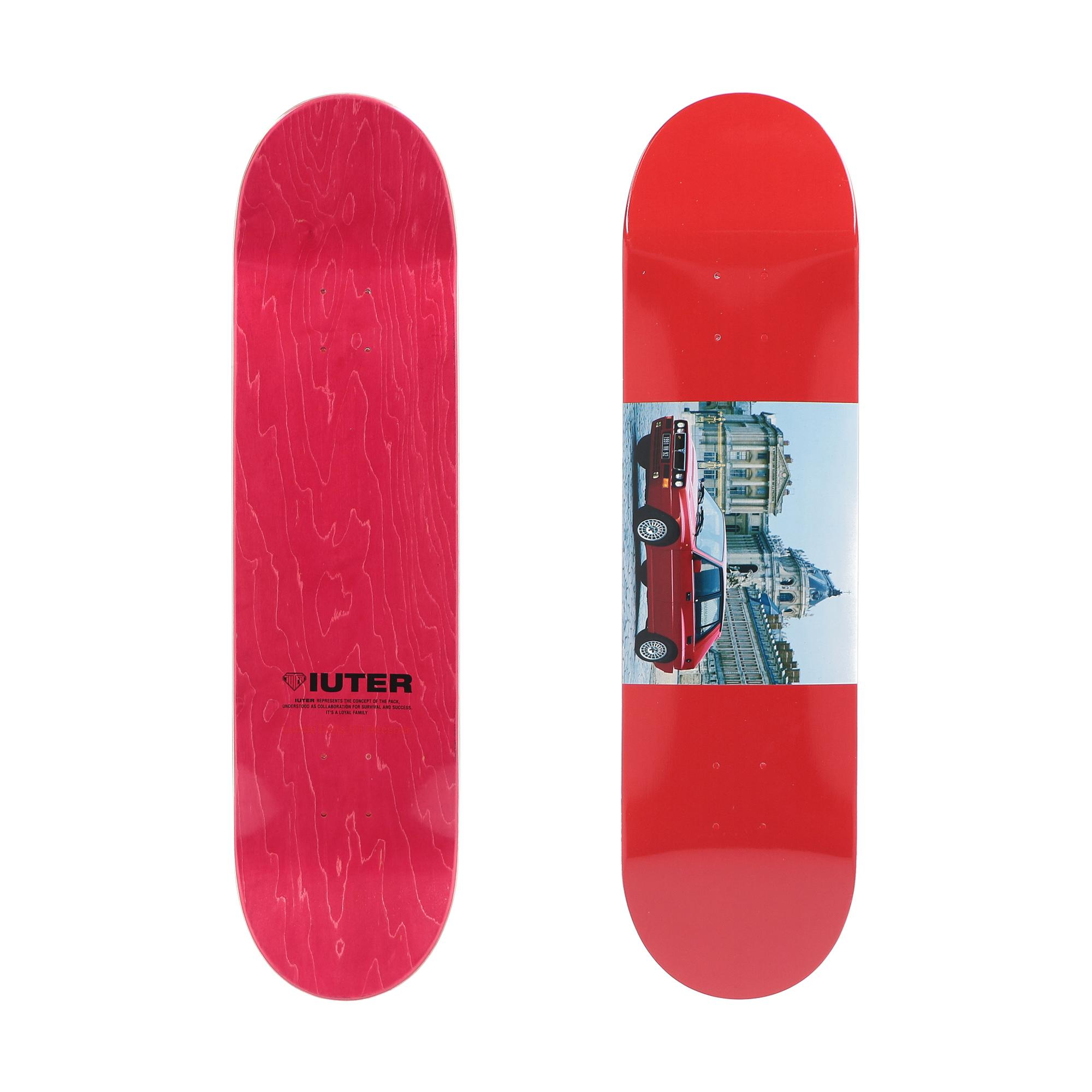 Iuter Versailles Skateboard Deck Multicolor