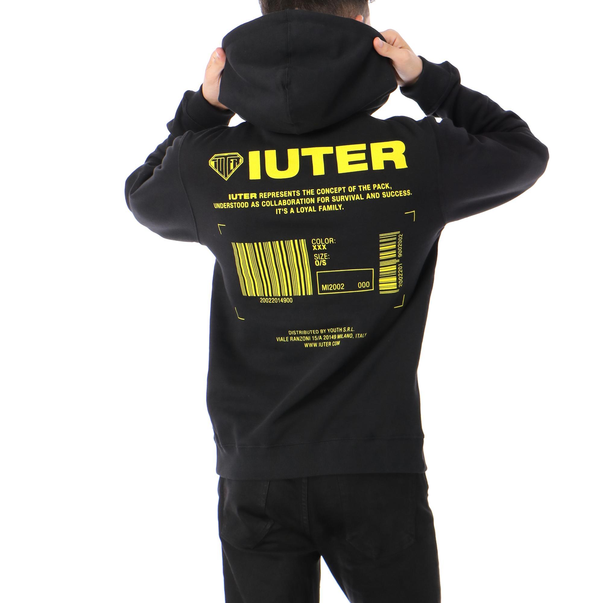 Iuter Info Hoodie Black