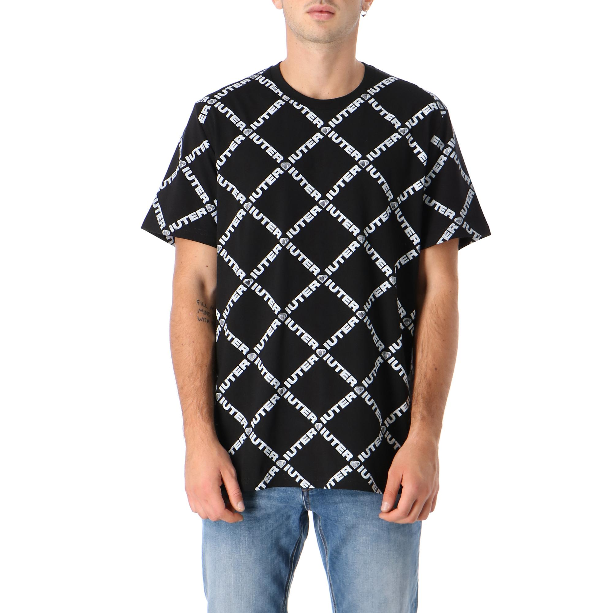Iuter Diamond Tee Black