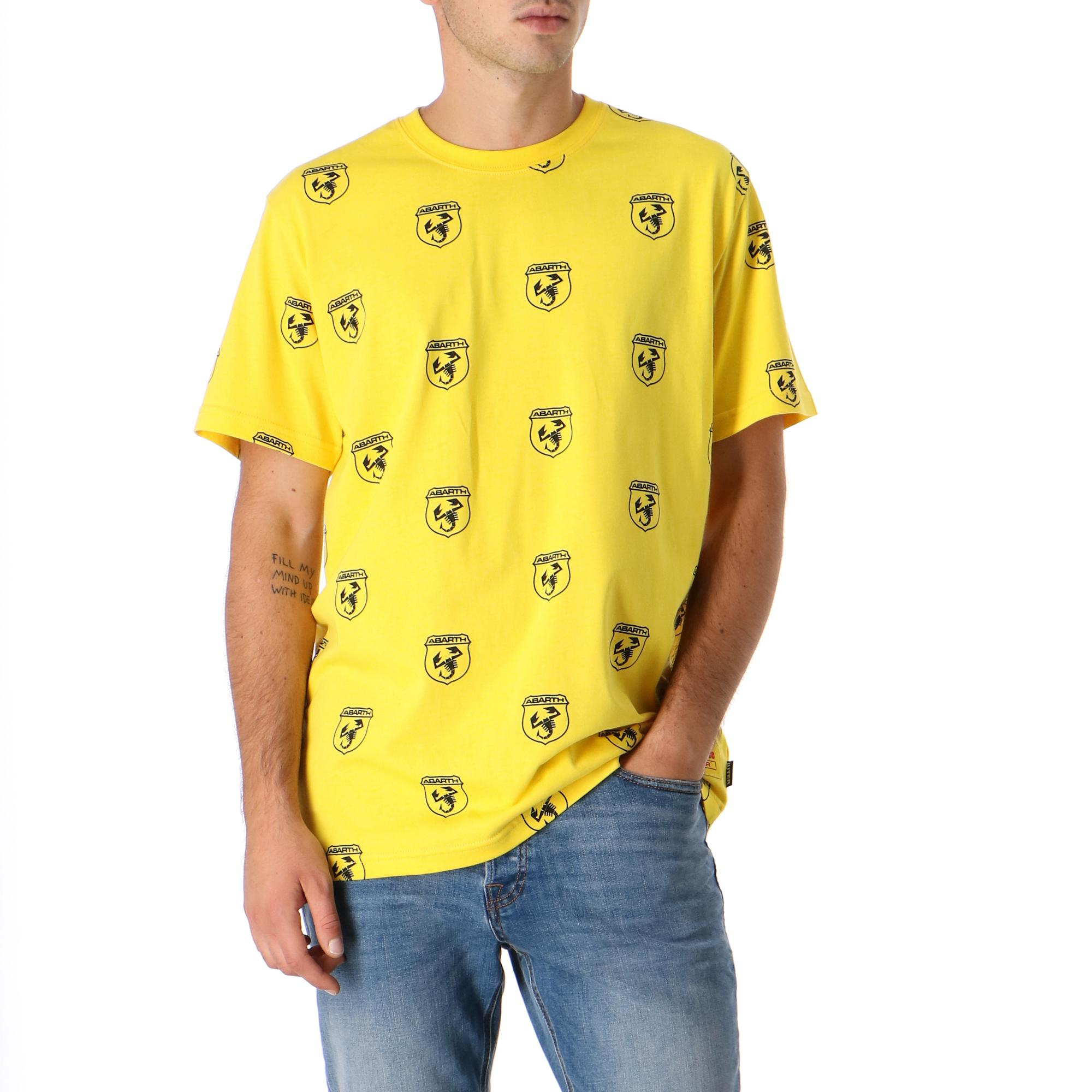 Iuter Abarth Scorpio Tee YELLOW