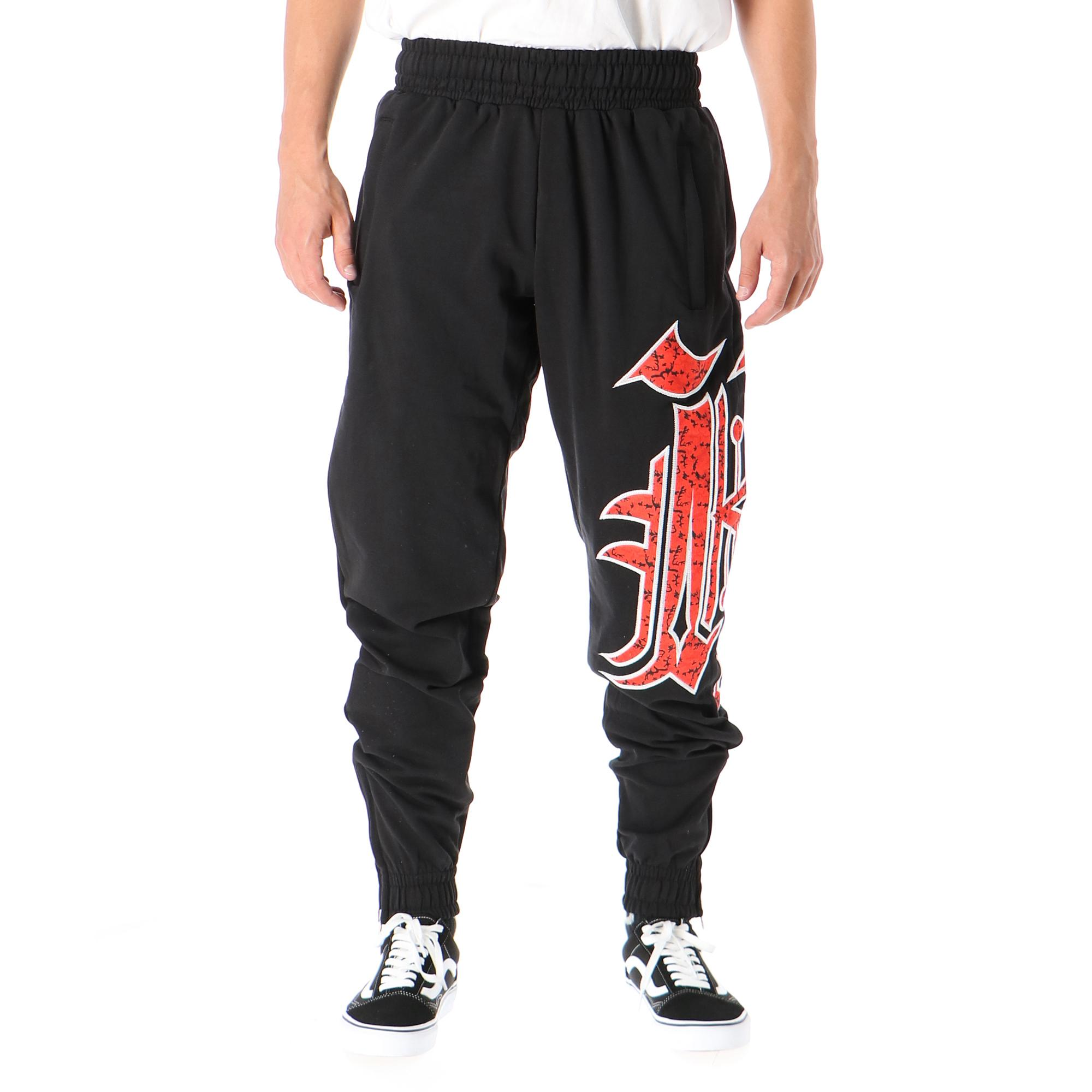 Kali King Kk Pant Black red