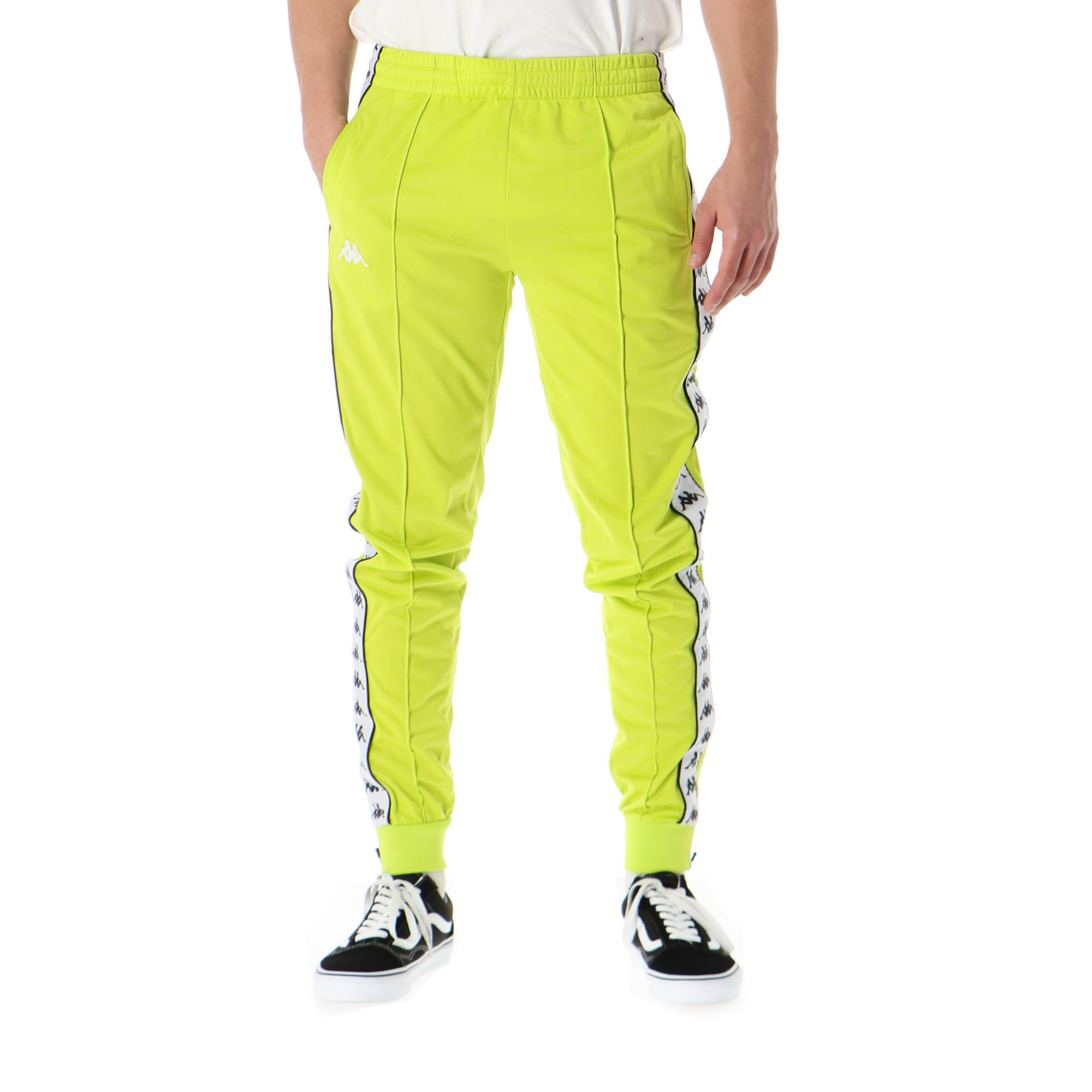Kappa 222 Banda Rastoria Slim Green lime white