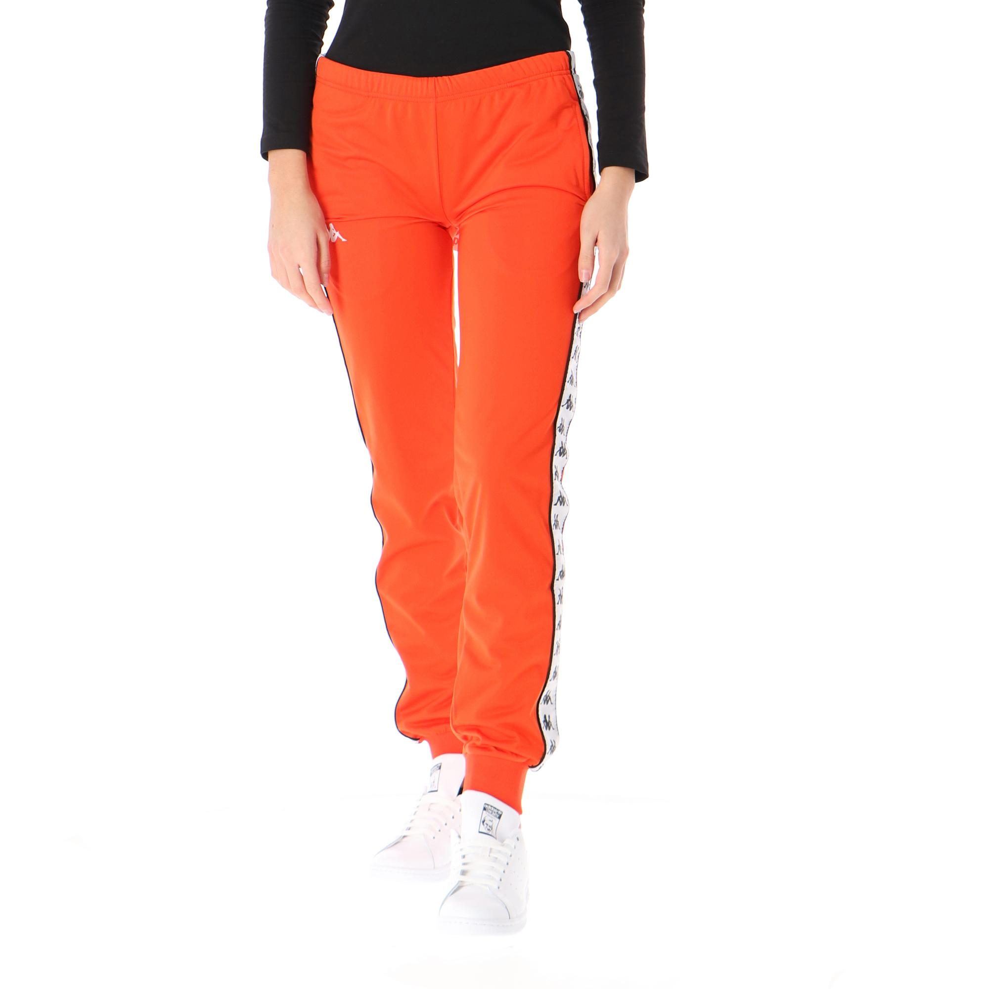 Kappa 222 Banda Rastoria Slim Orange flame white