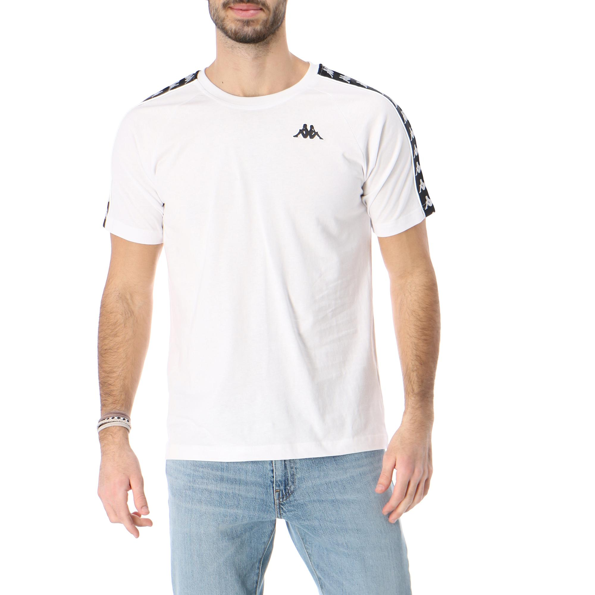 Kappa 222 Banda Coenly Slim White black