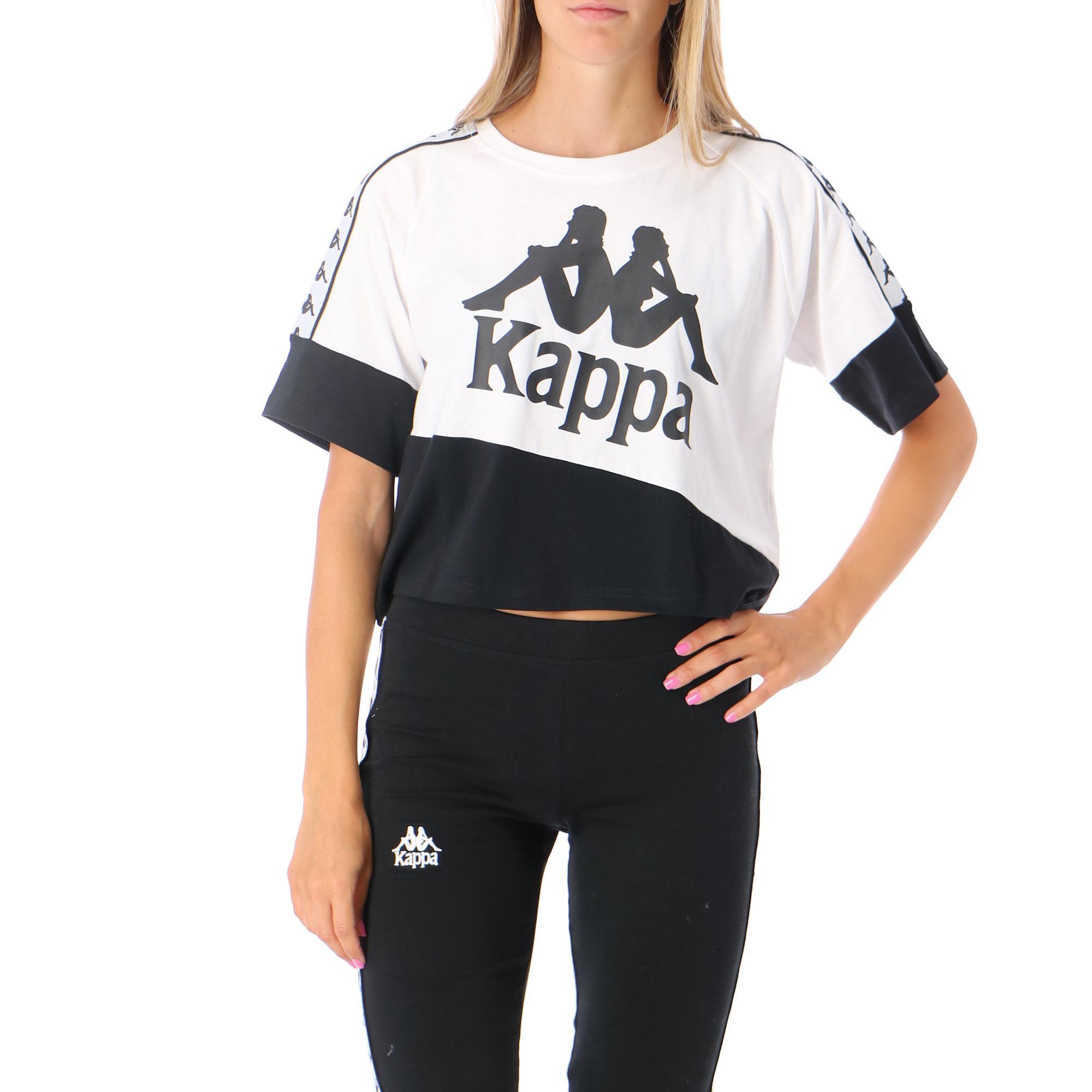 Kappa 222 Banda Balimnos White black WHITE