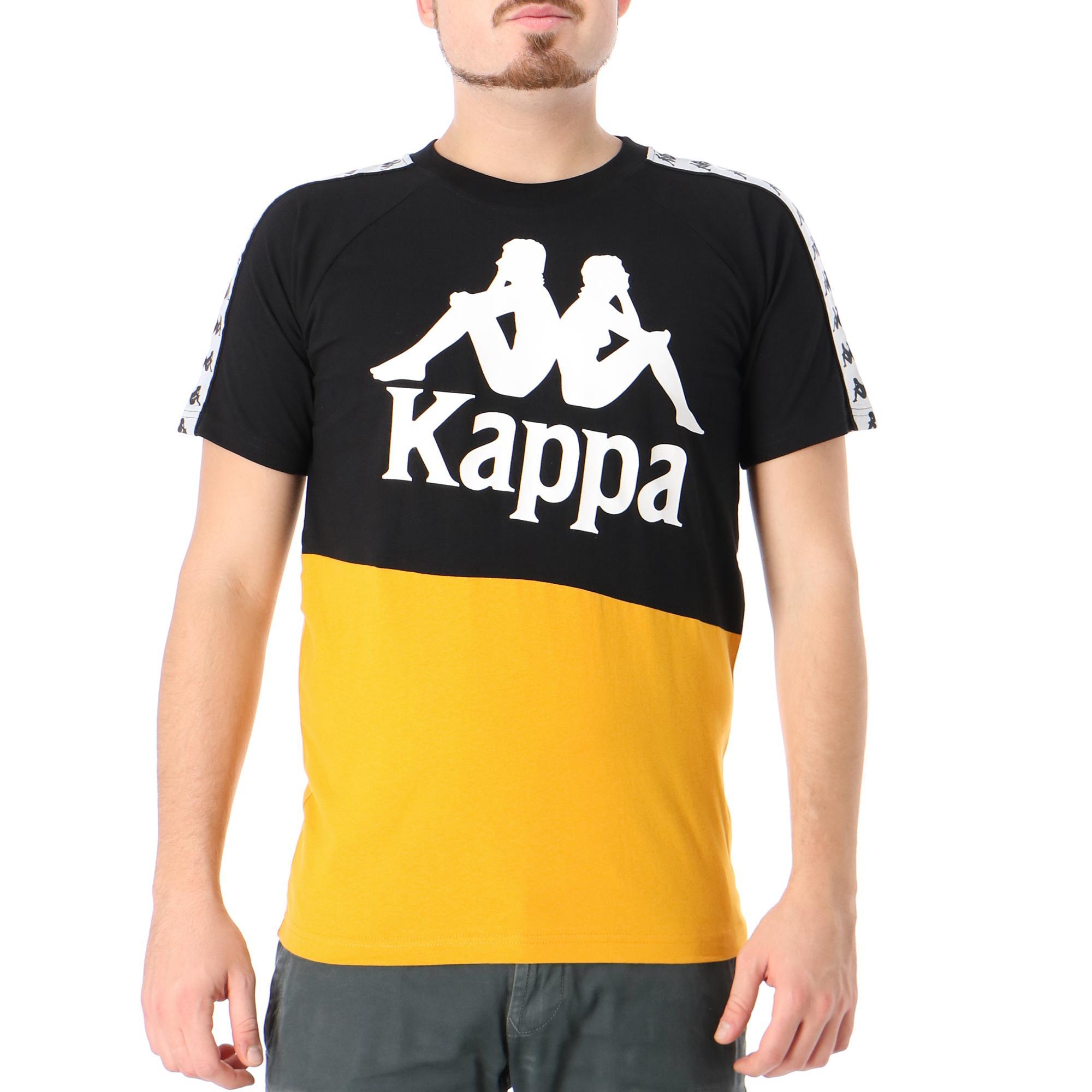 Kappa 222 Banda Baldwin<br/> Black ochre white