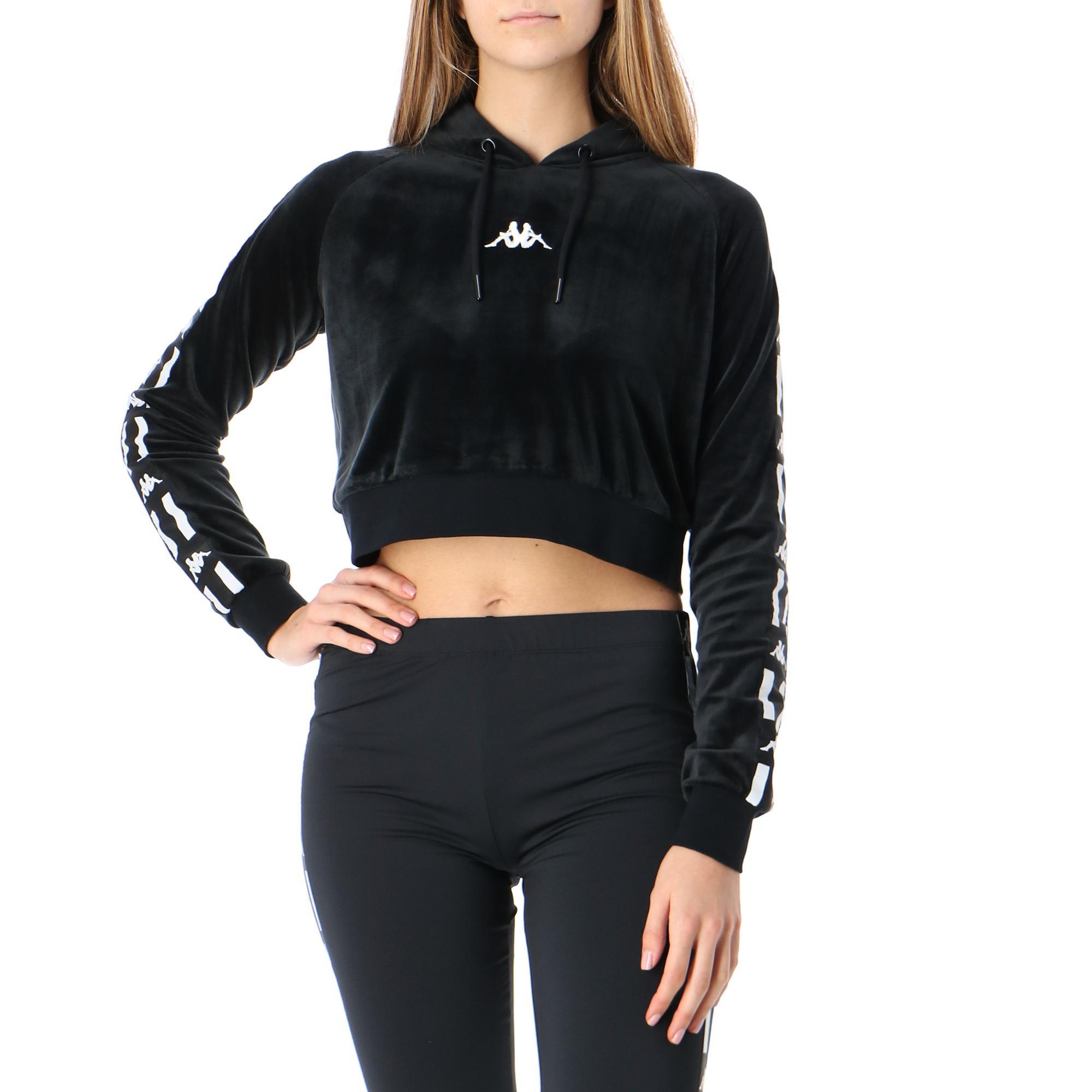Kappa Authentic La Damas Black white
