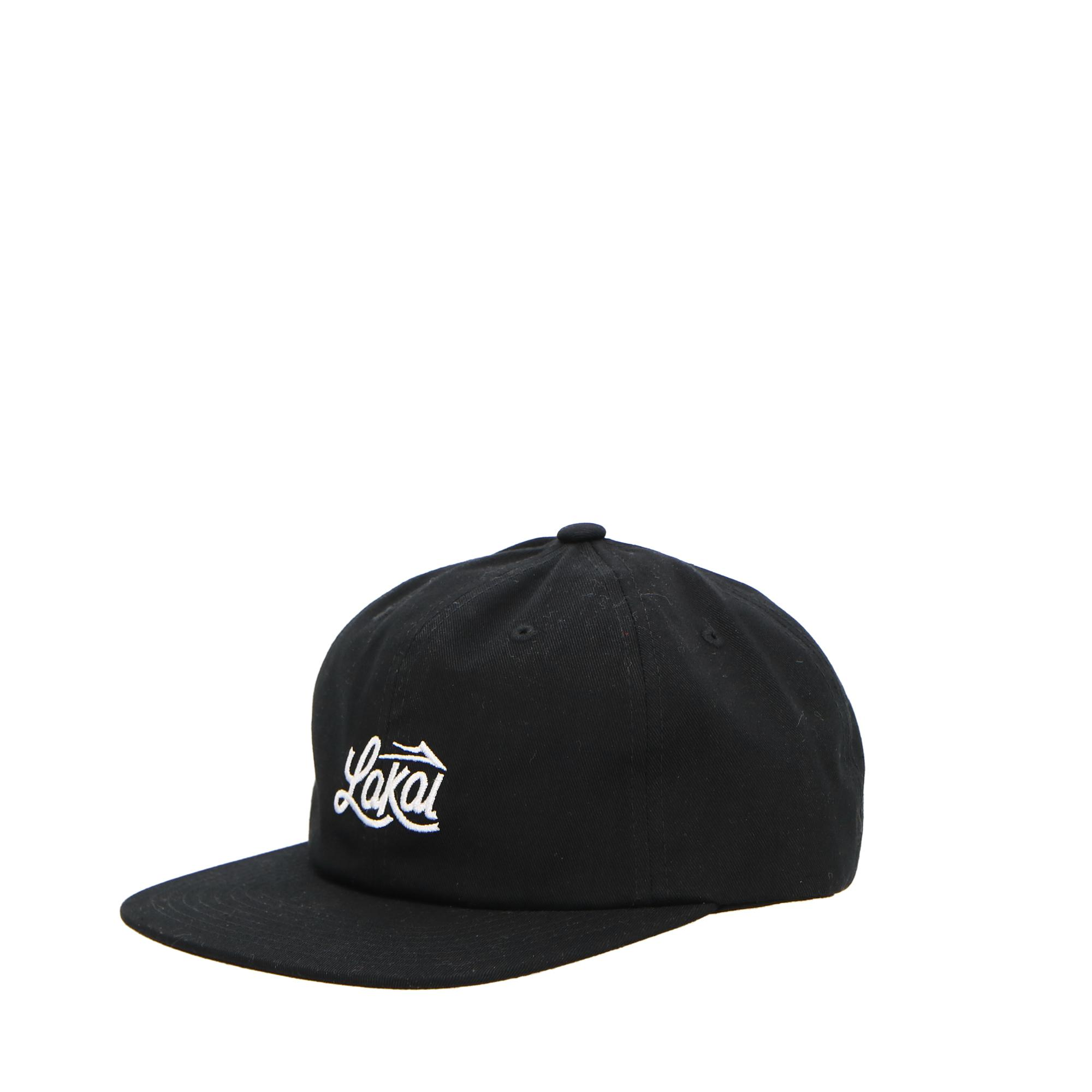 Lakai Sign Polo Strapback Black