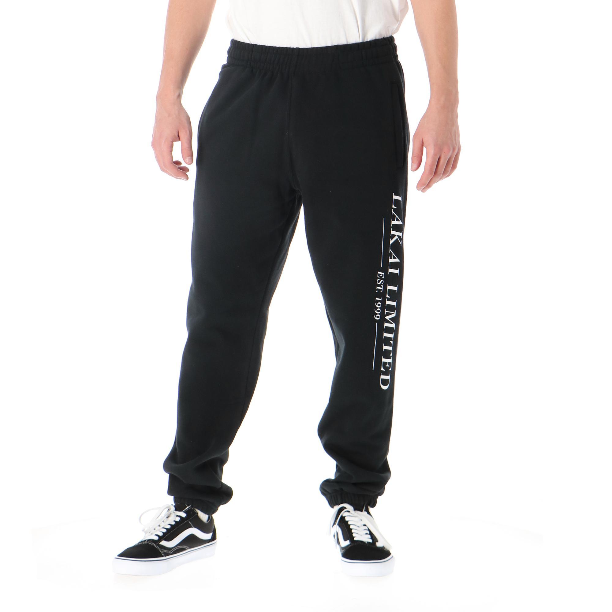 Lakai Simple Sweatpant Black