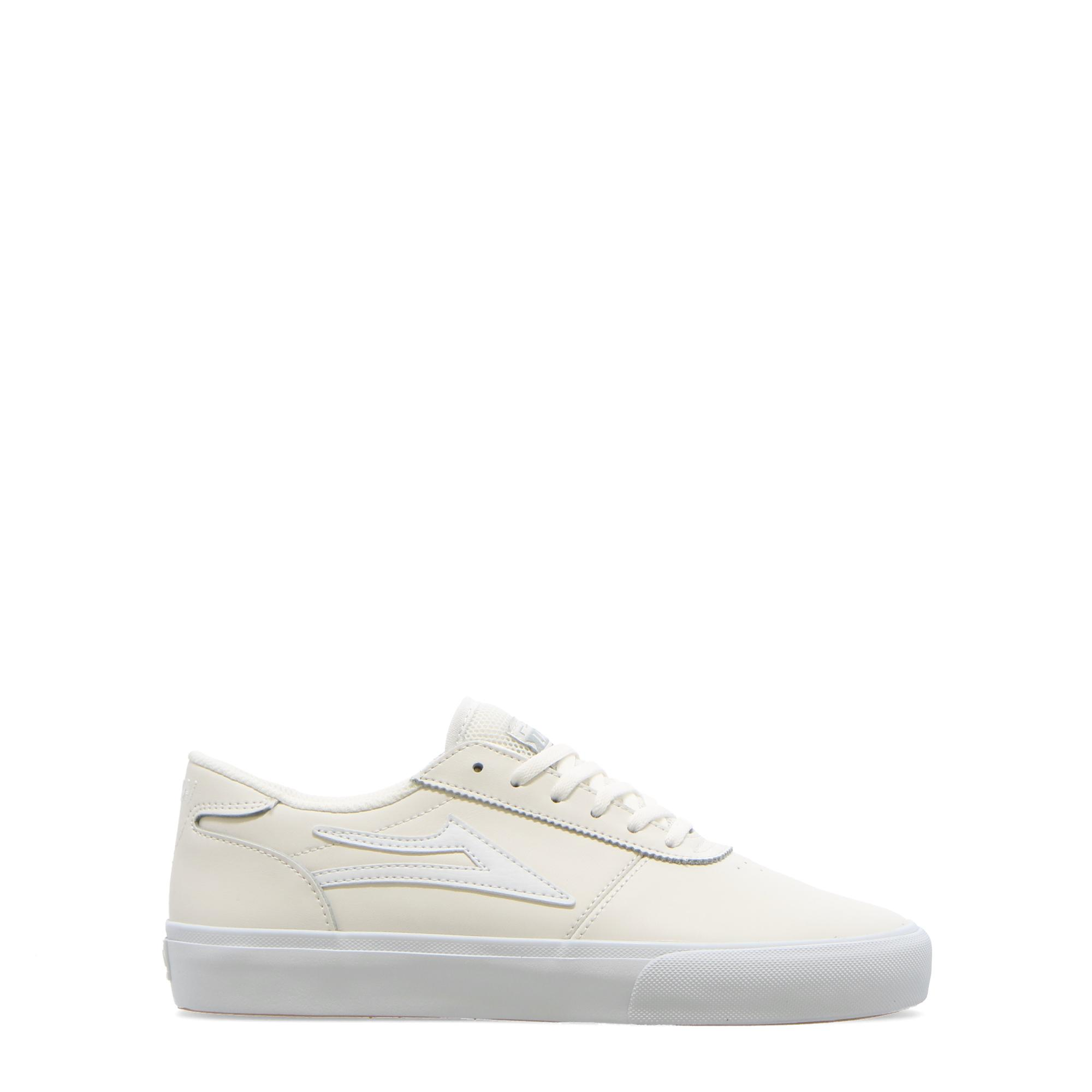Lakai Manchester White leather