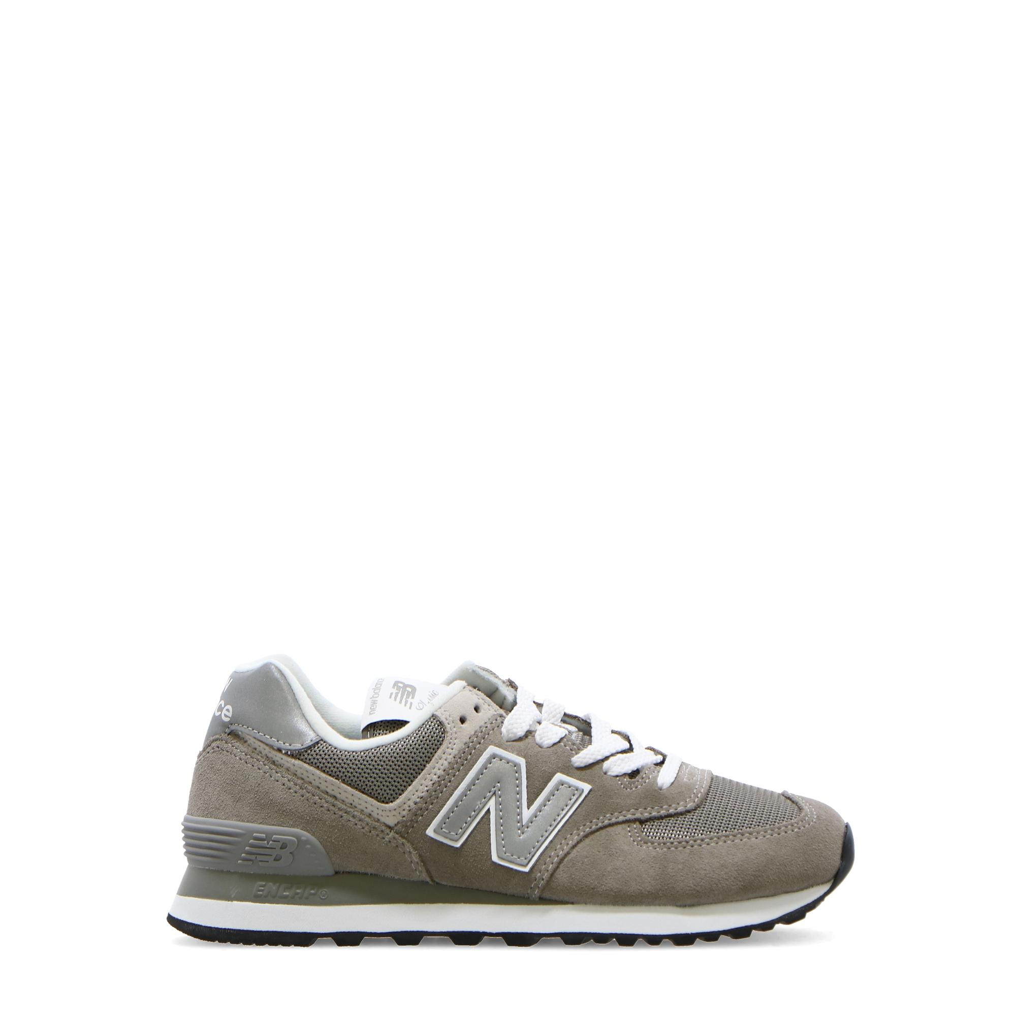 New Balance 574 Metallic Leather GREY