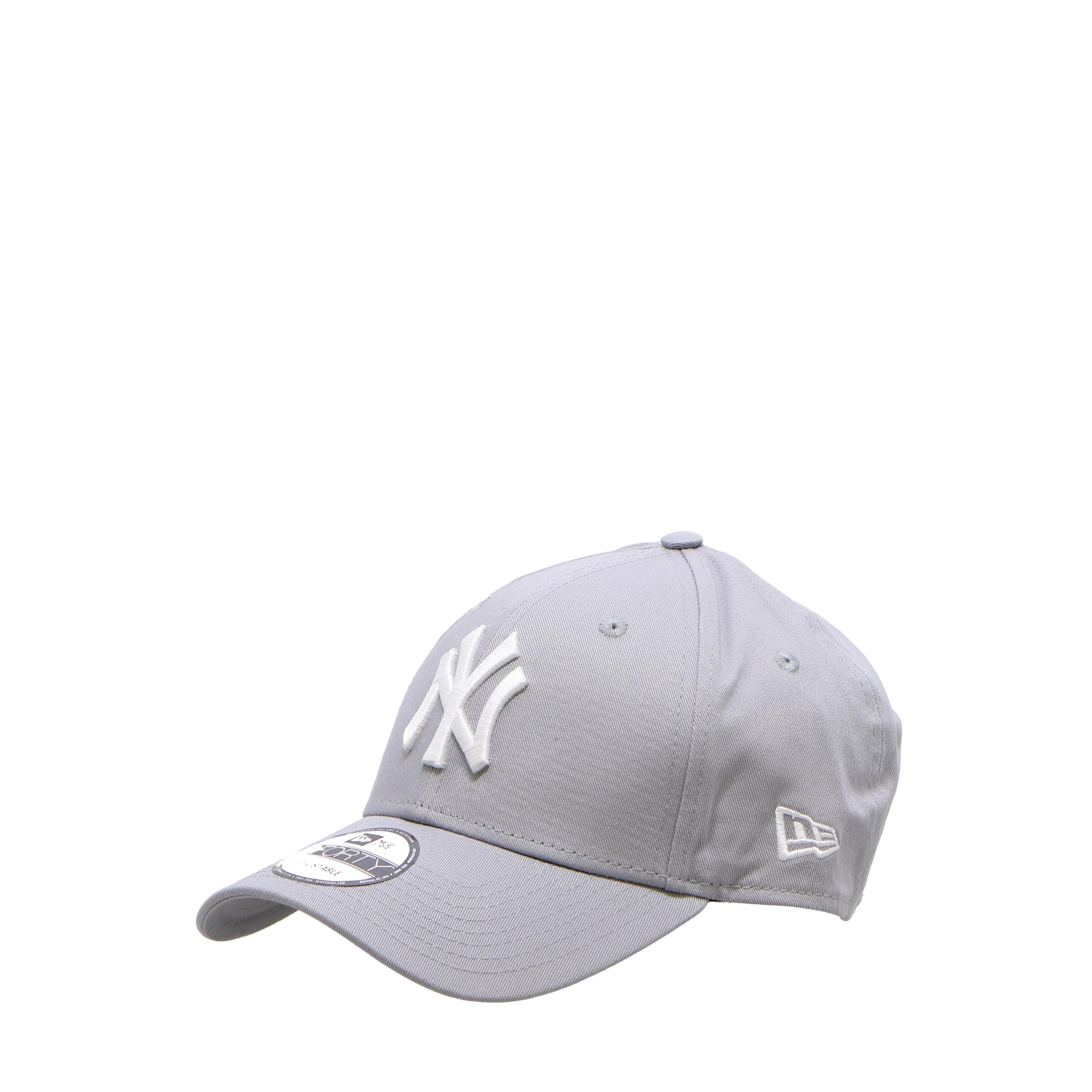 New Era 940 League Basic Ny Yankees Gray white