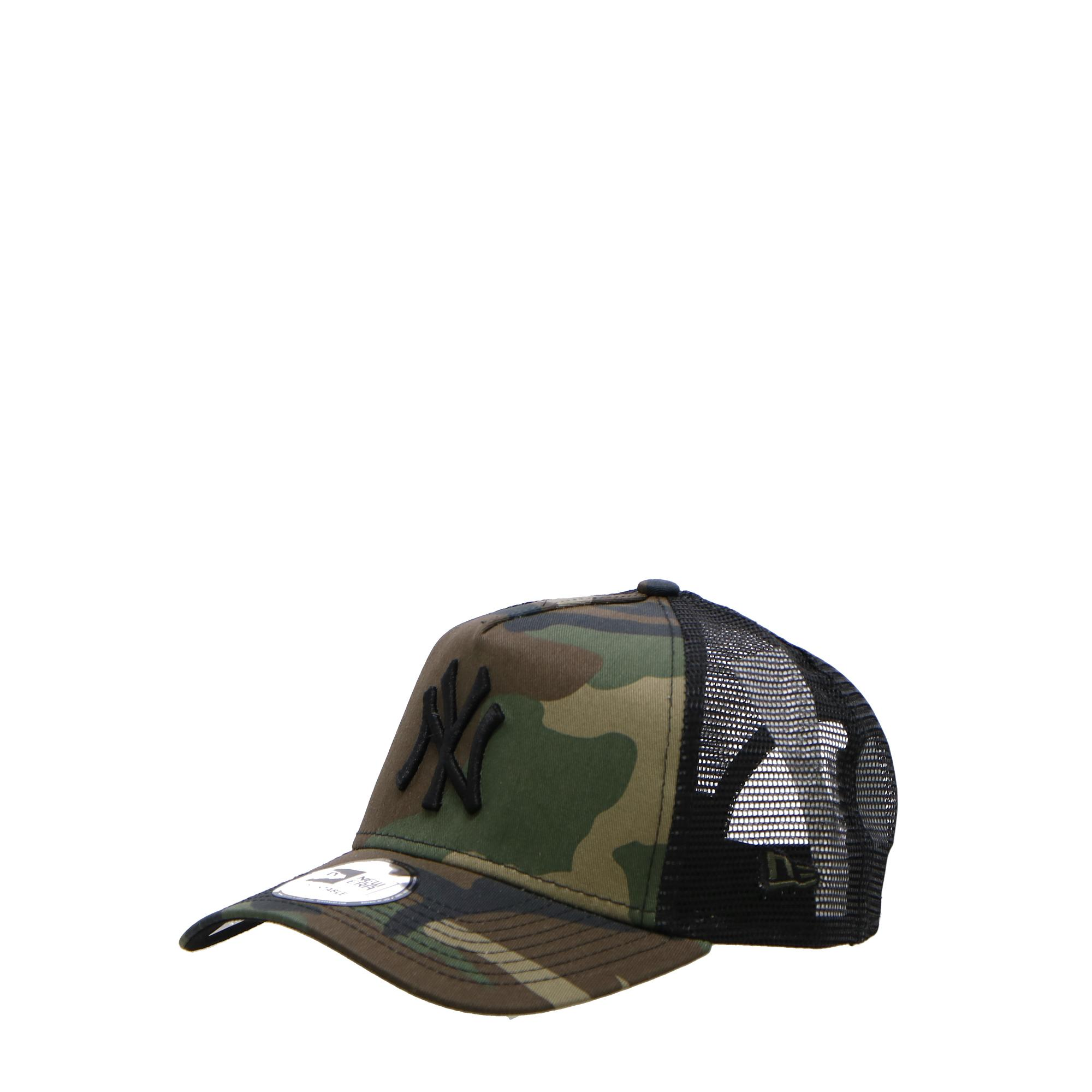 New Era Clean Trucker Ny Yankees Wood camo black