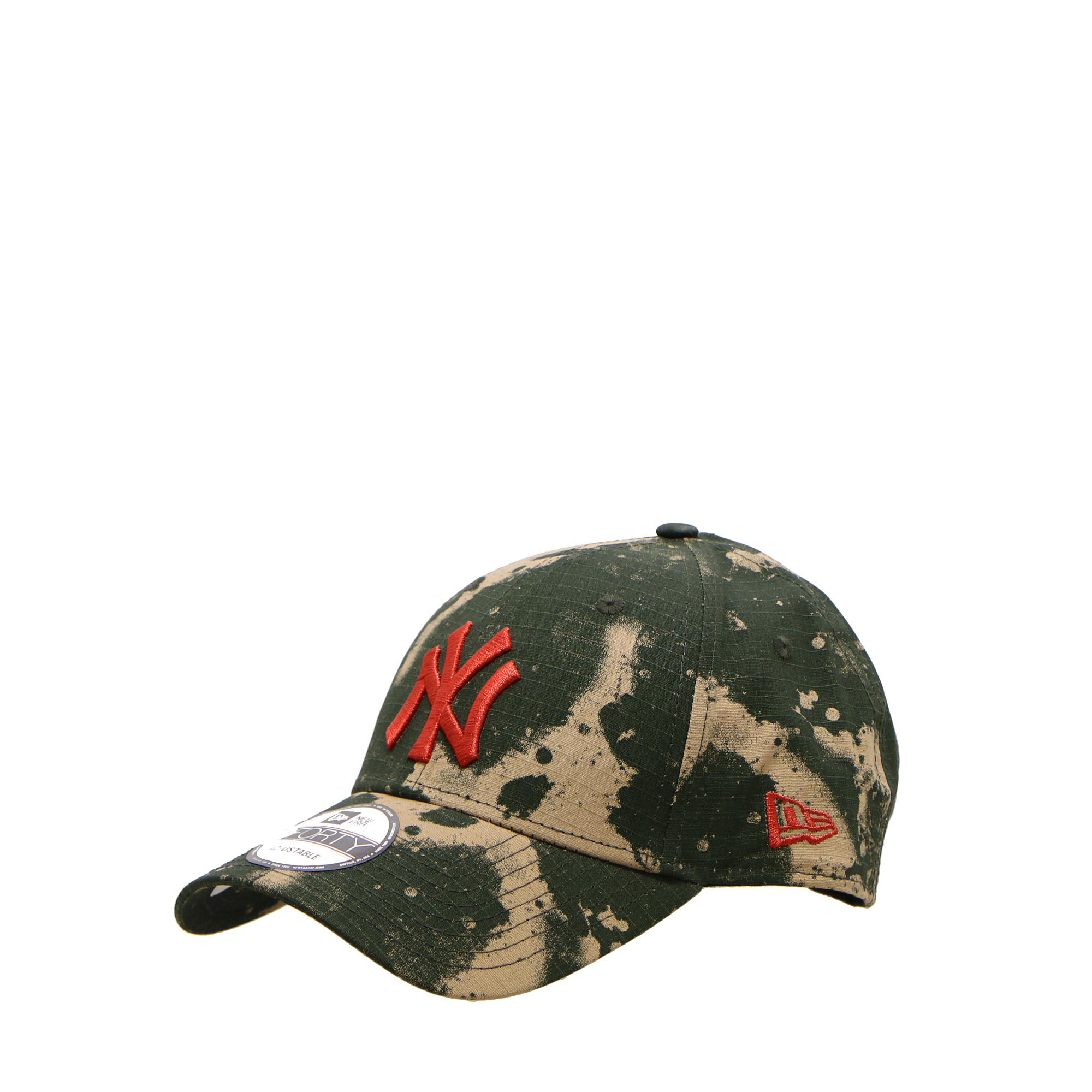 New Era 940 Ne Blurr Camo Ny Yankees Camo fiery red