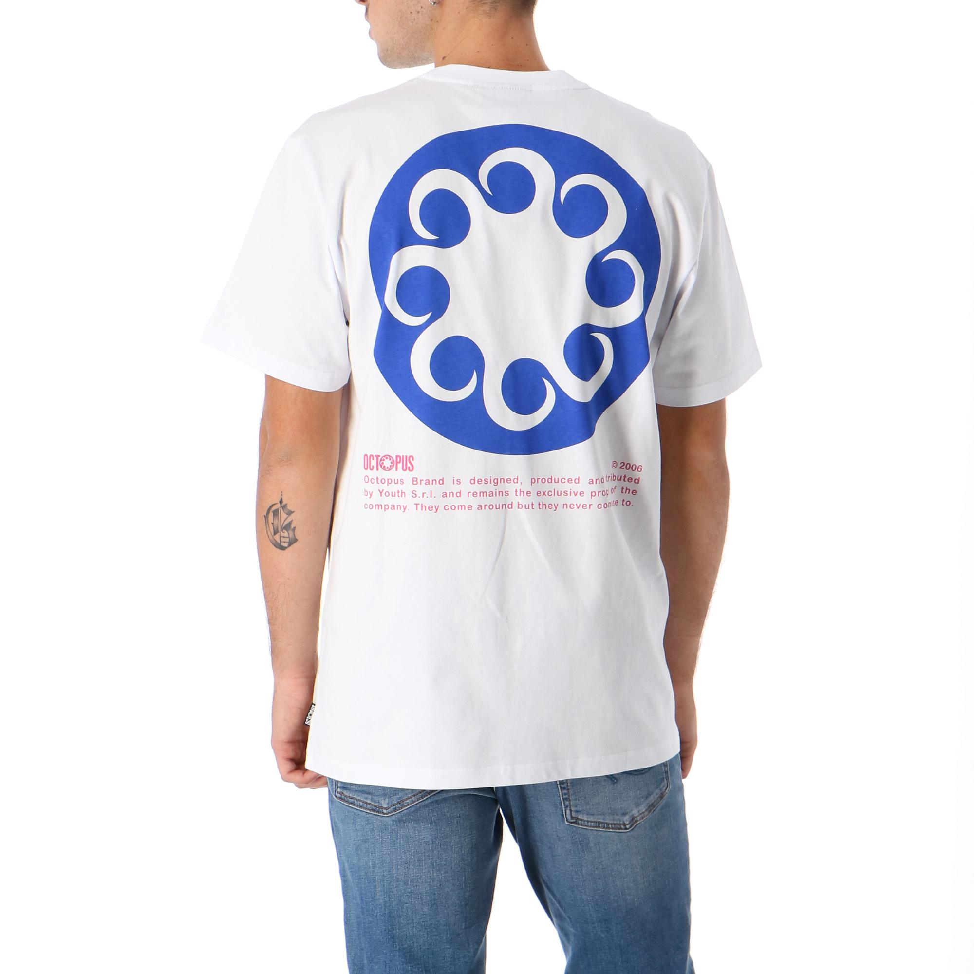 Octopus Logo Tee WHITE