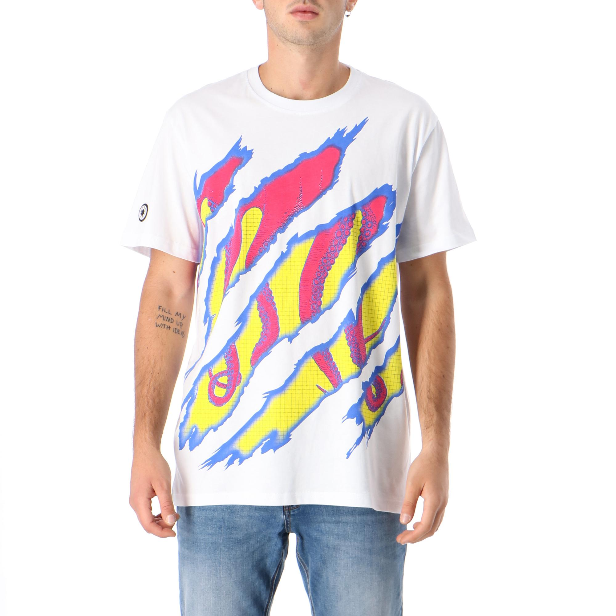 Octopus Ripper Tee WHITE