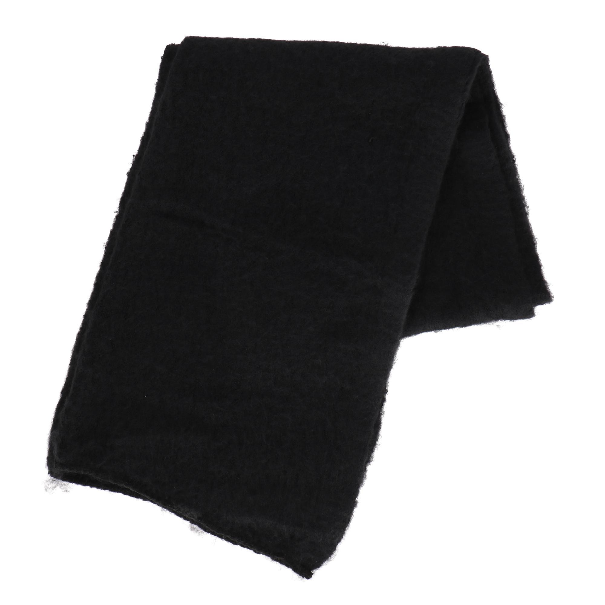 Only Lima Knit Long Scarf Black
