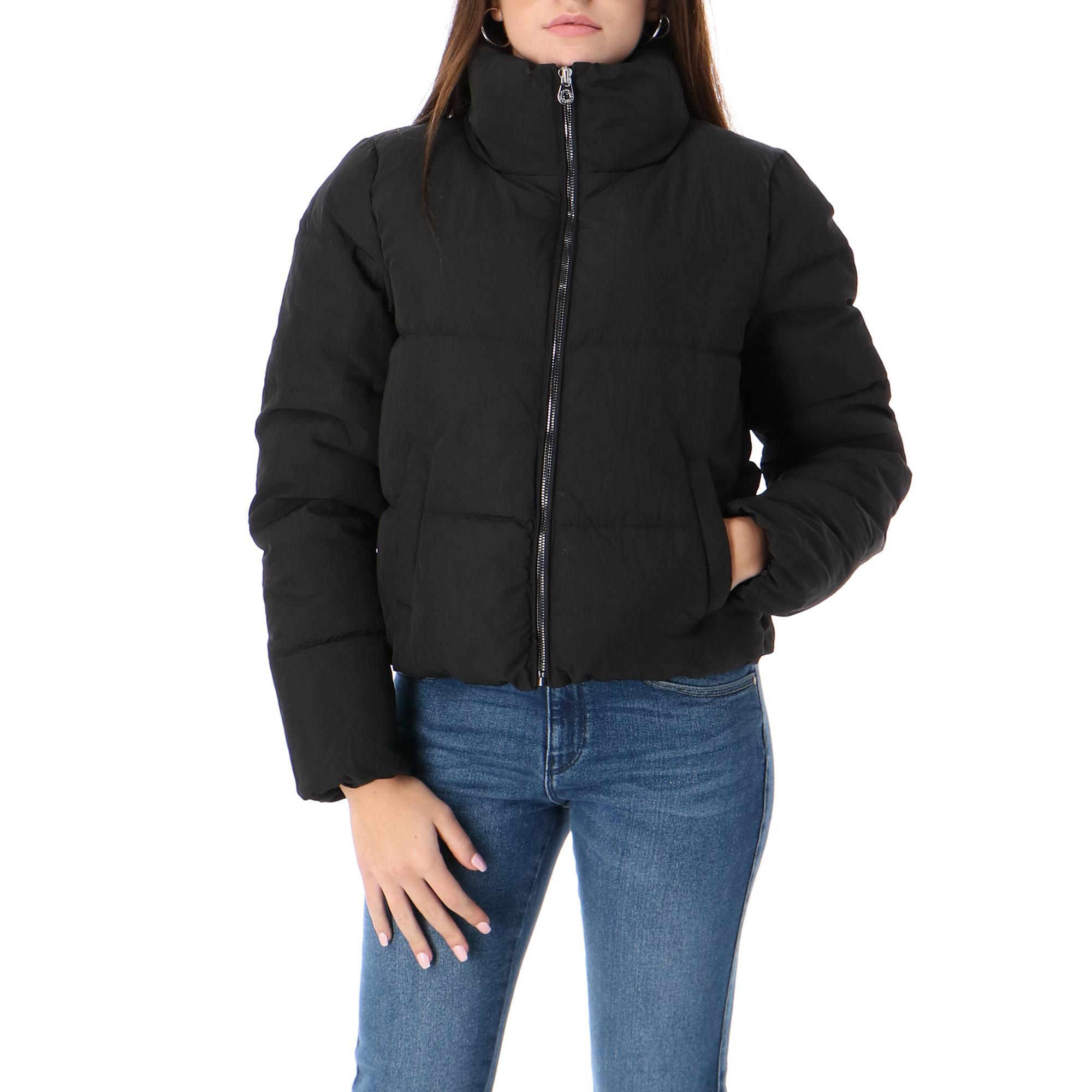 Only Onldolly Short Puffer Jacket Otw Noos Black
