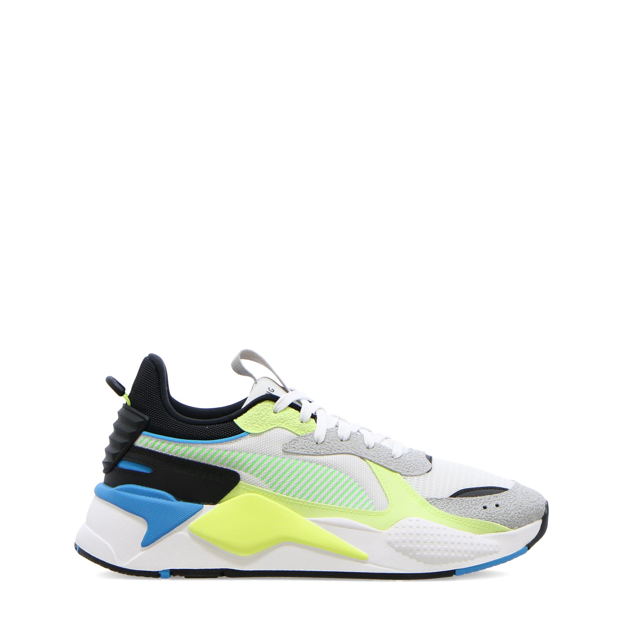 Puma Rs-x Hard Drive White fizzy yellow grey violet