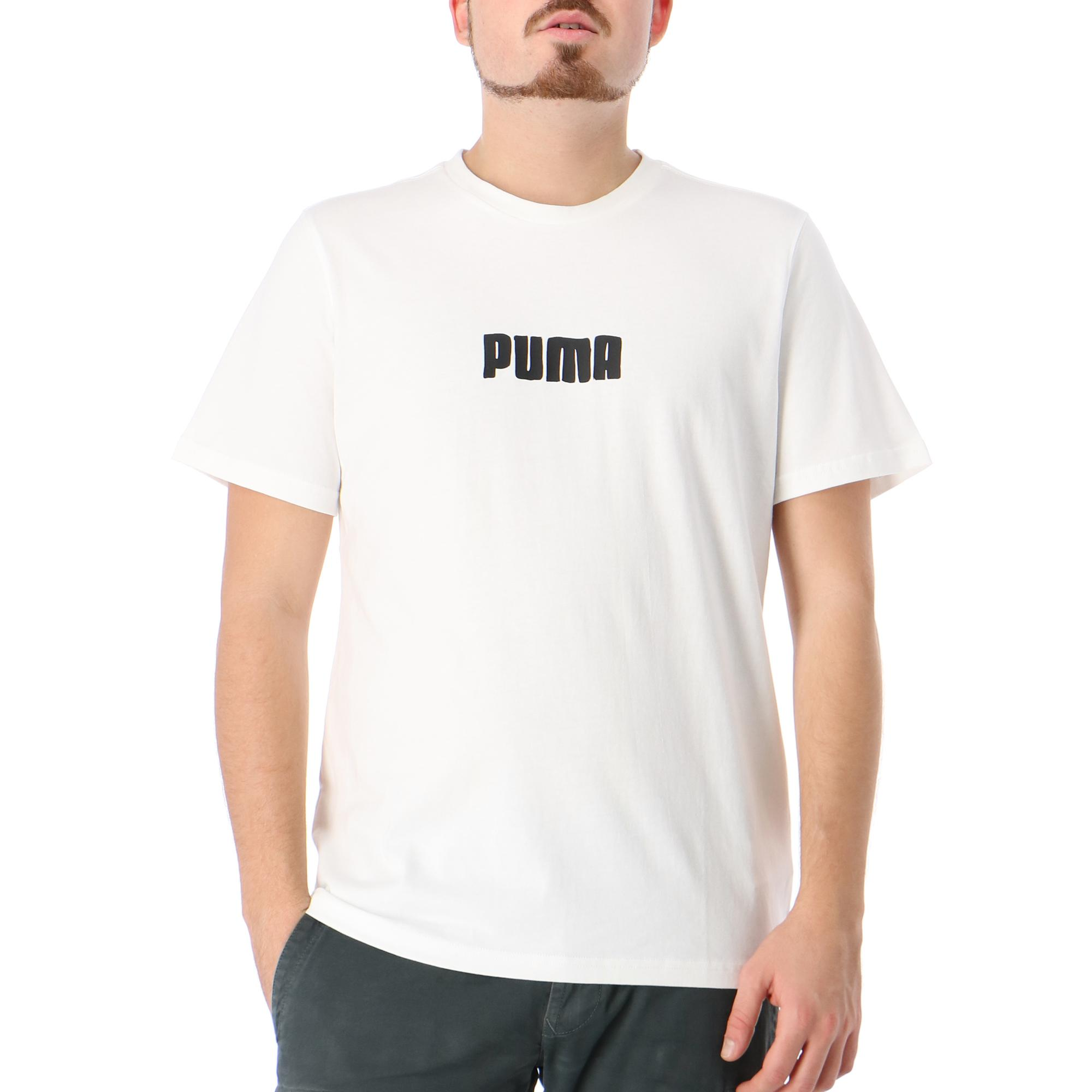 Puma Cat Jaws Tee Puma white