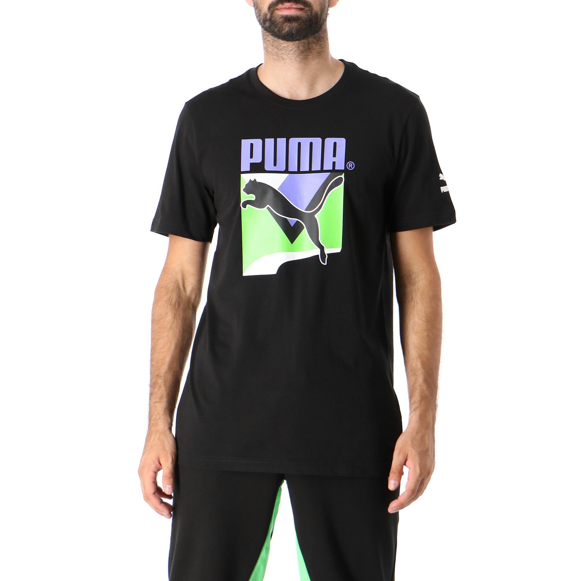 Puma Tfs Graphic Tee Puma black