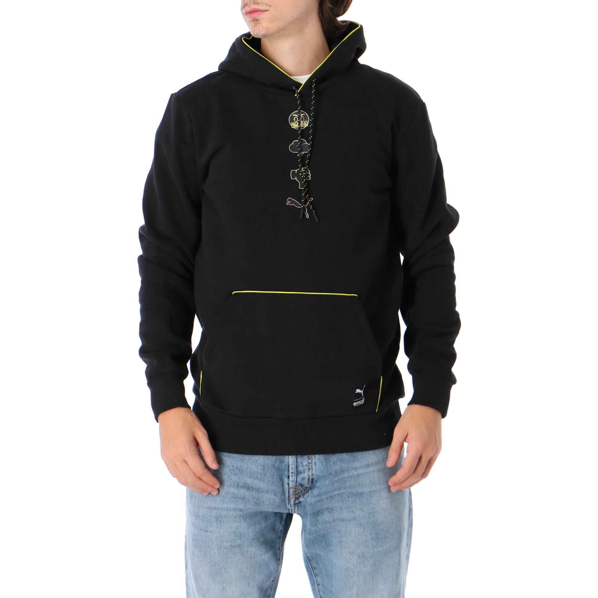 Puma X Emoji Hoodie Black