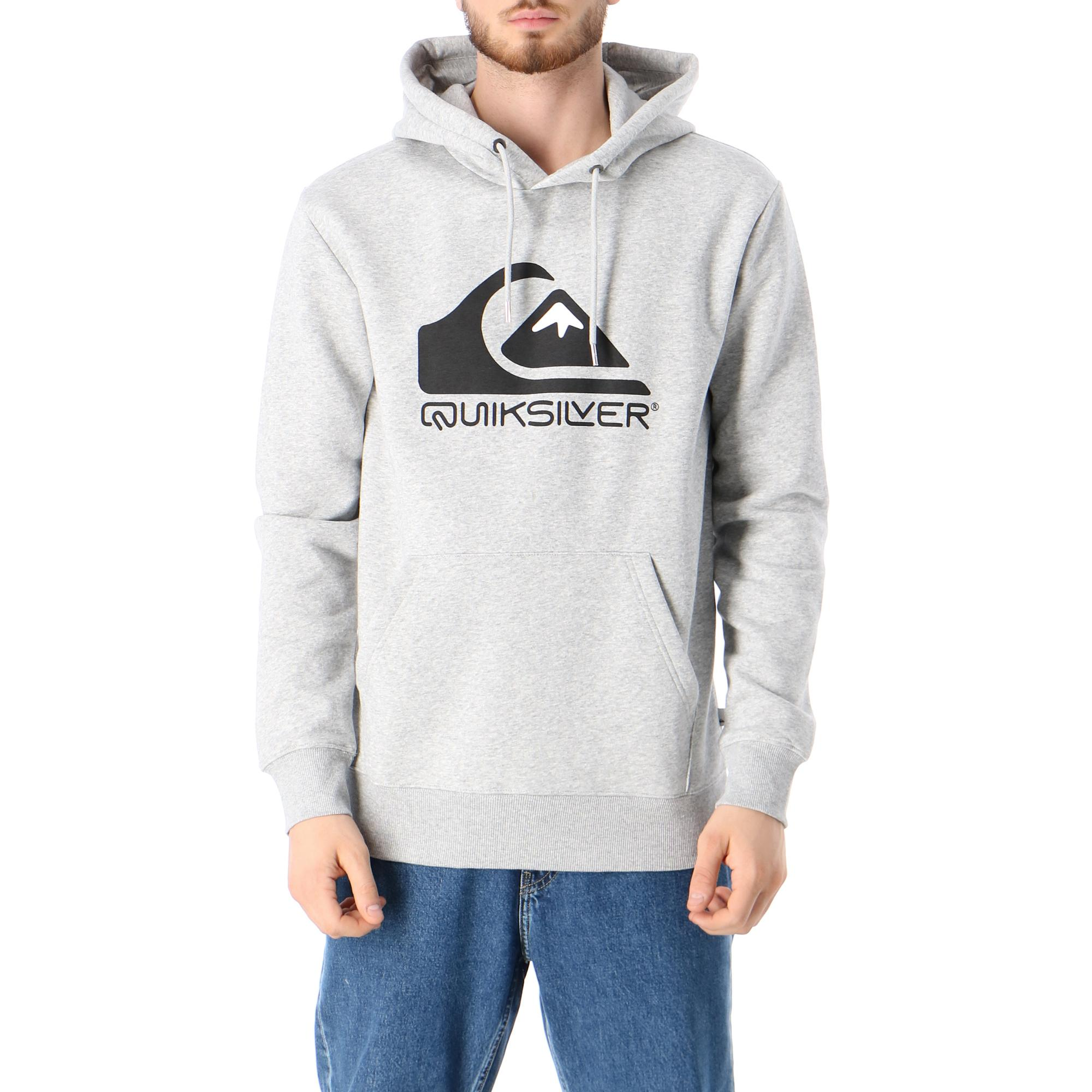Quiksilver Square Me Up Screen Fleece Athletic heather