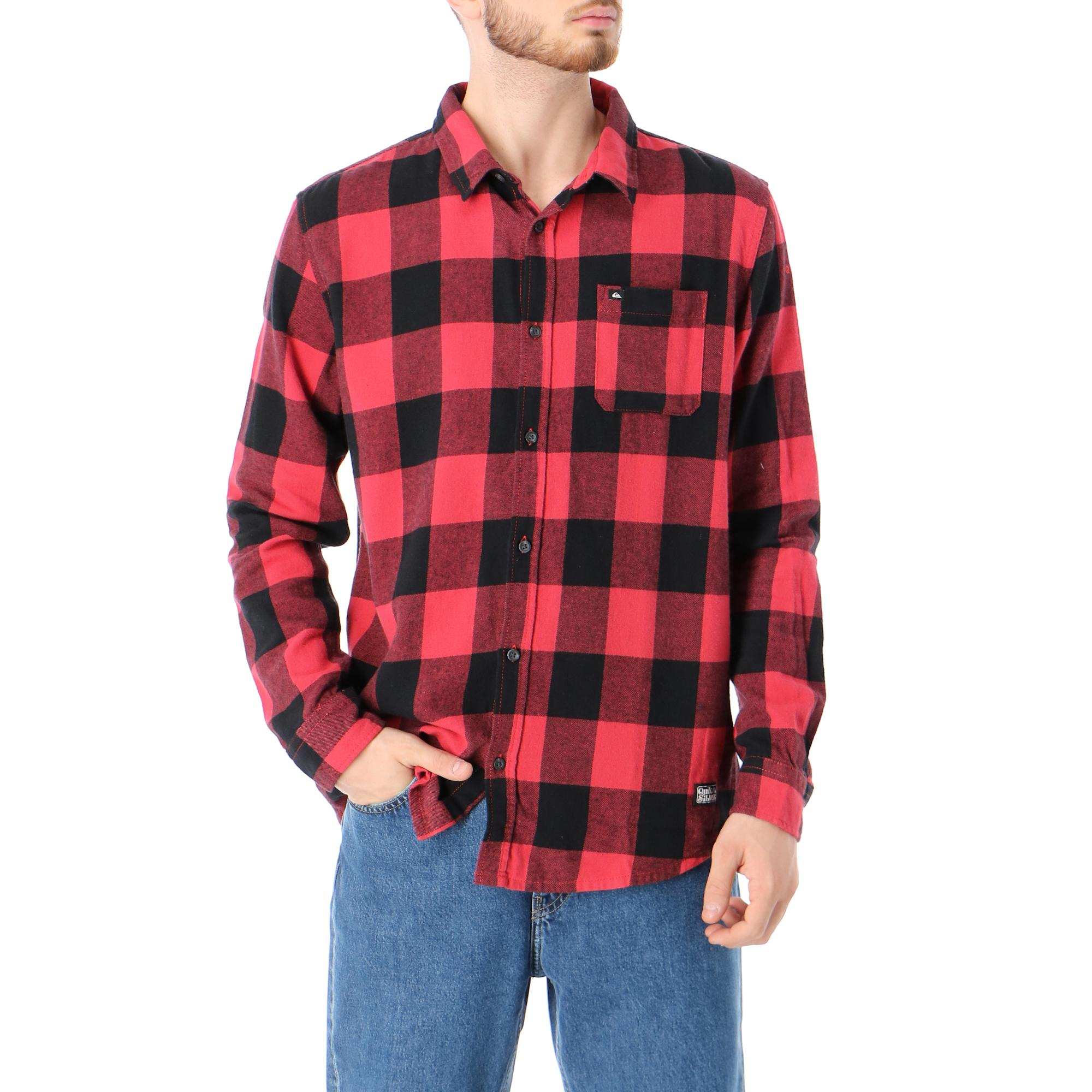 Quiksilver Motherfly Flannel Americas red motherfly
