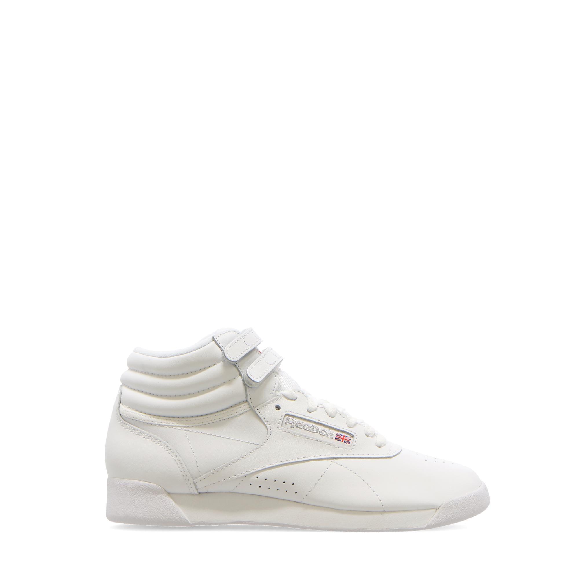 Reebok F/s Hi White silver
