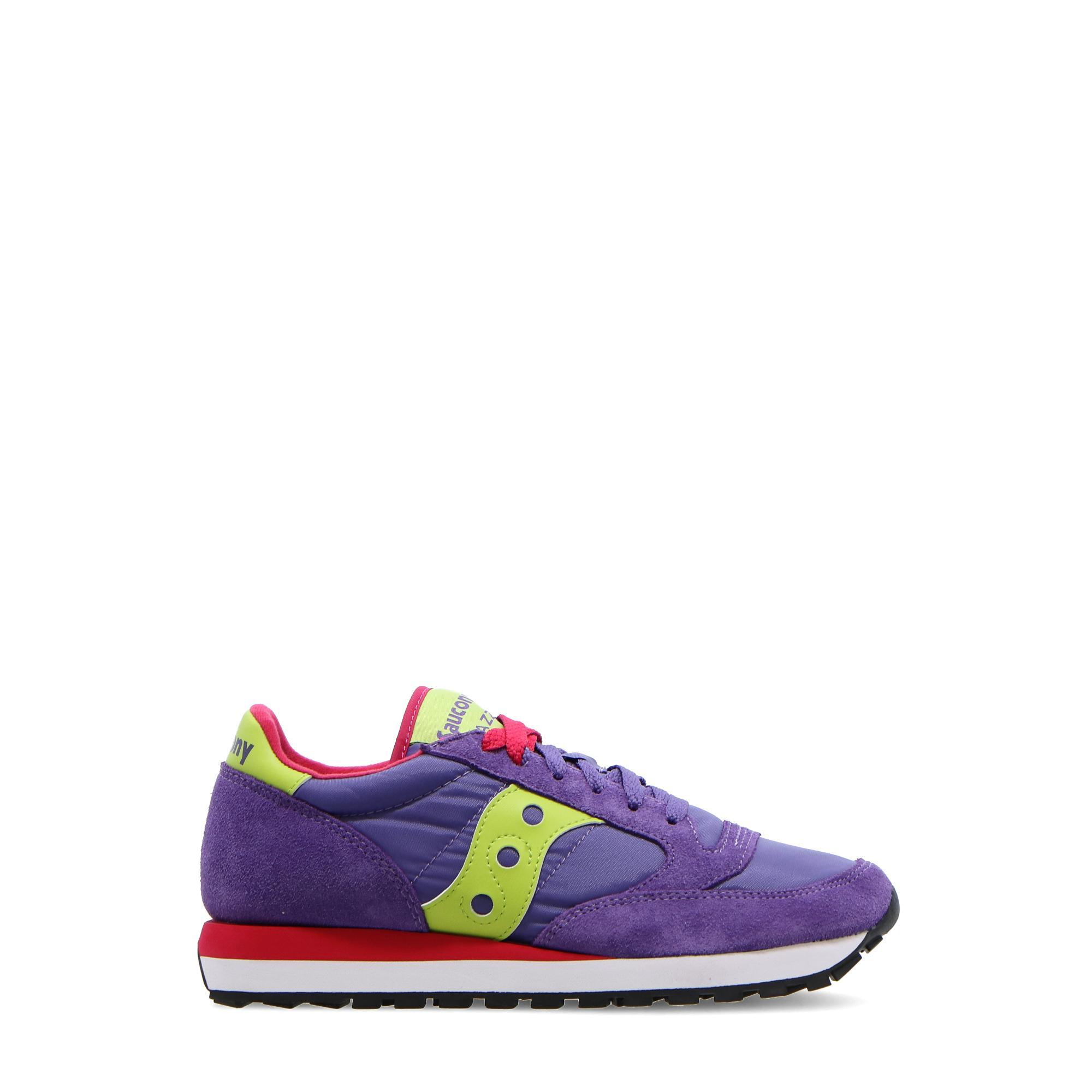 Saucony Jazz O W Purple slim red