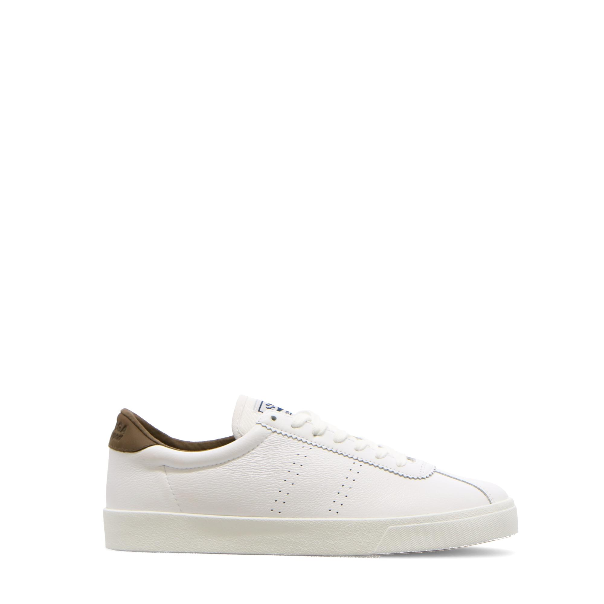 Superga 2843 Clubs Comfleau White military green
