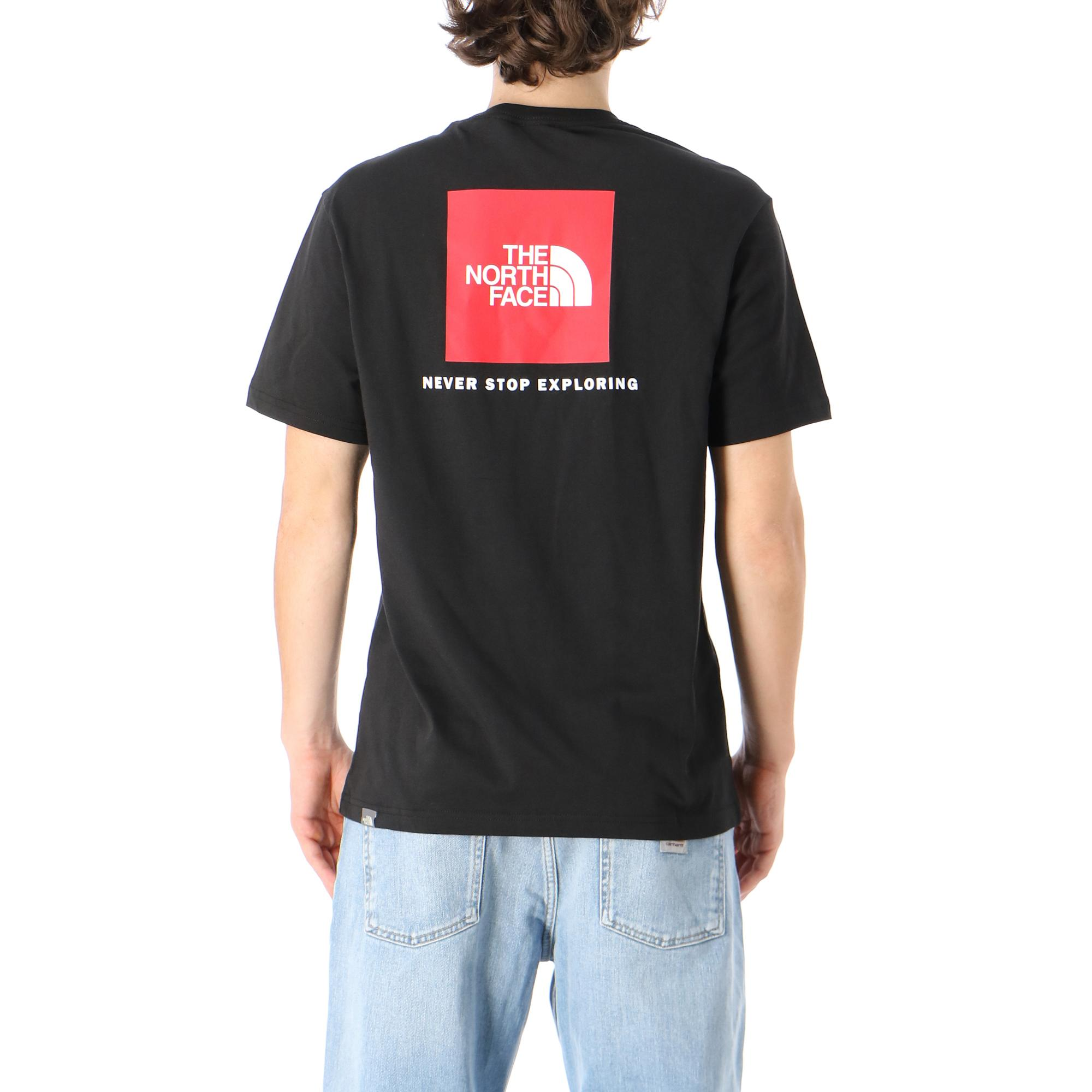 The North Face M S/s Redbox Tee TNF BLACK