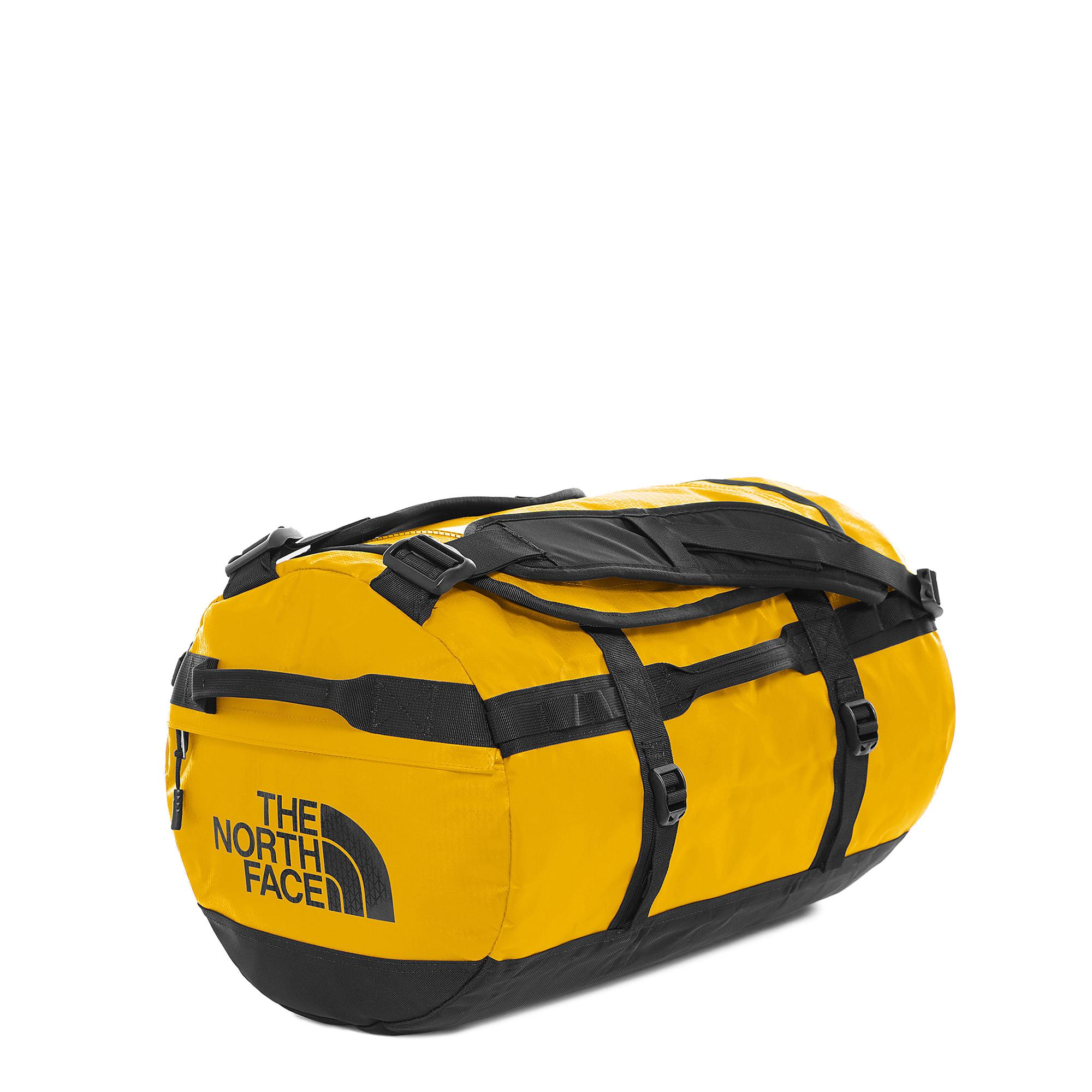 The North Face Base Campe Duffel S Summit gold tnf black