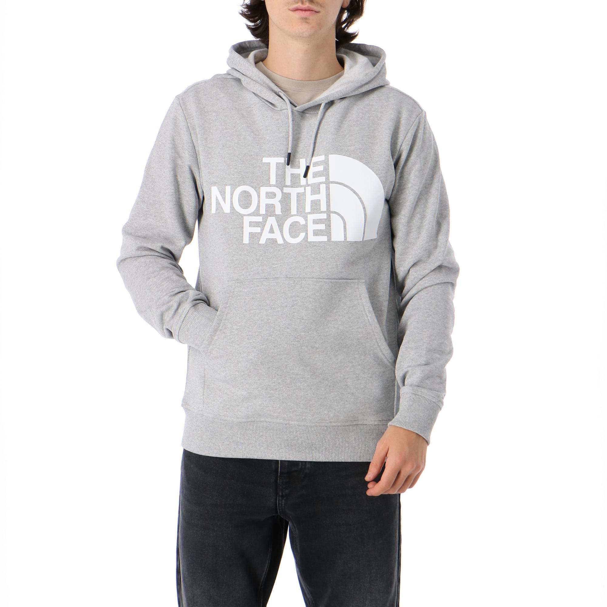 The North Face M Standard Hoodie Tnf Light Grey Heather Treesse