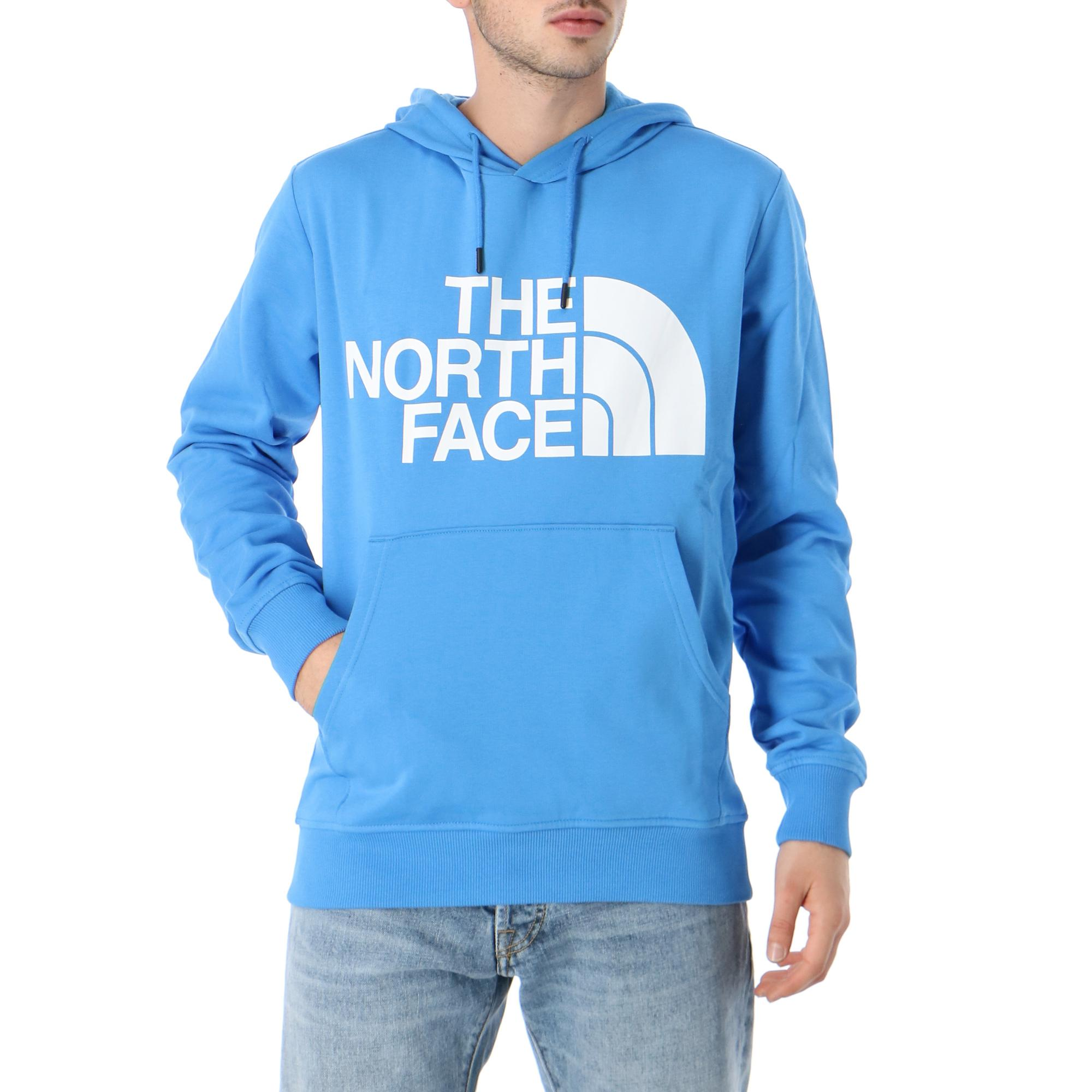 The North Face M Standard Hoodie Clear Lake Blue Treesse