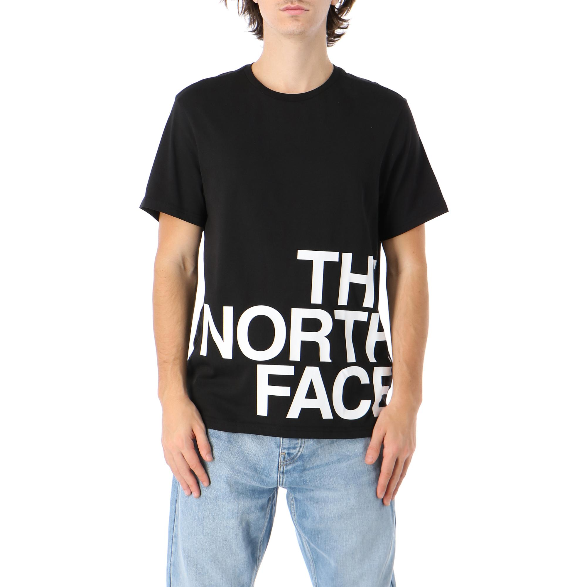 The North Face M Ss Graphic Flow 1 Tnf black tnf white