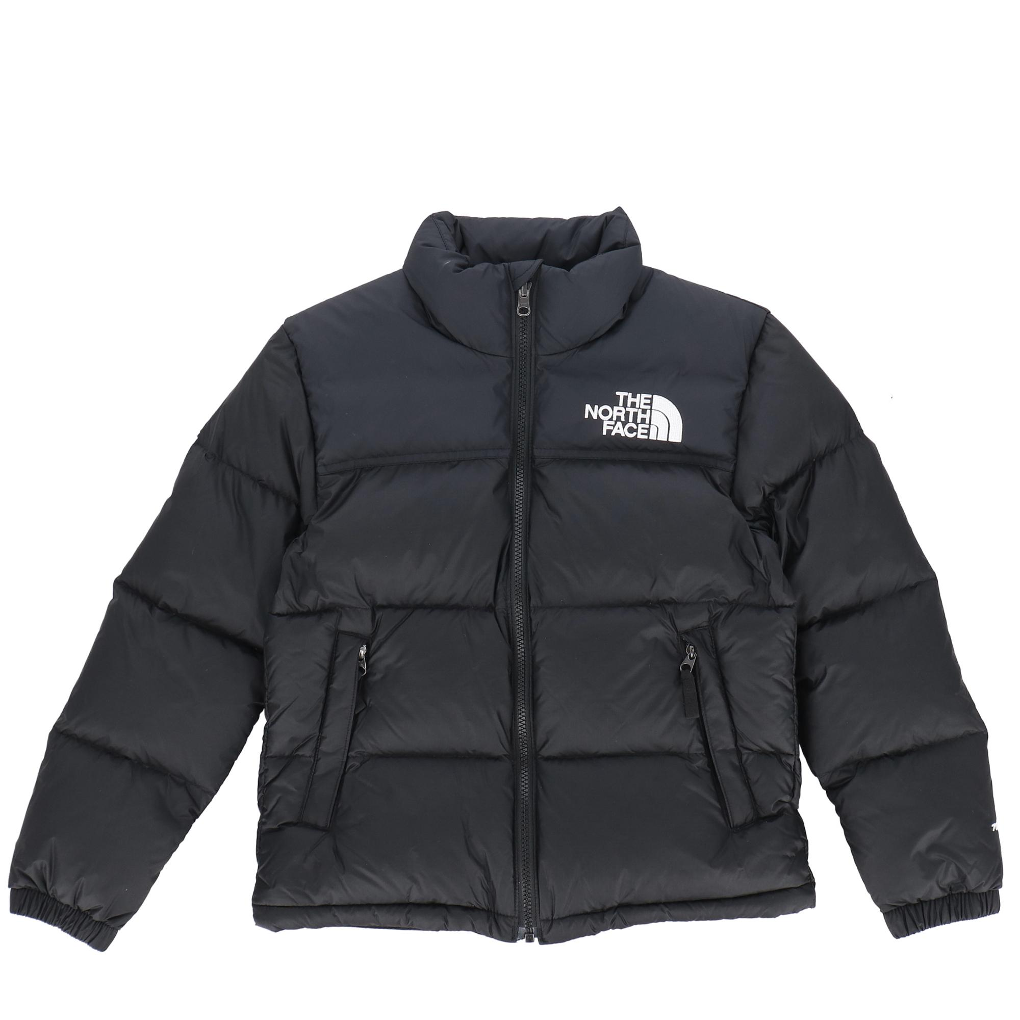 The North Face 96 Retro Nuptse Jacket Kids TNF BLACK