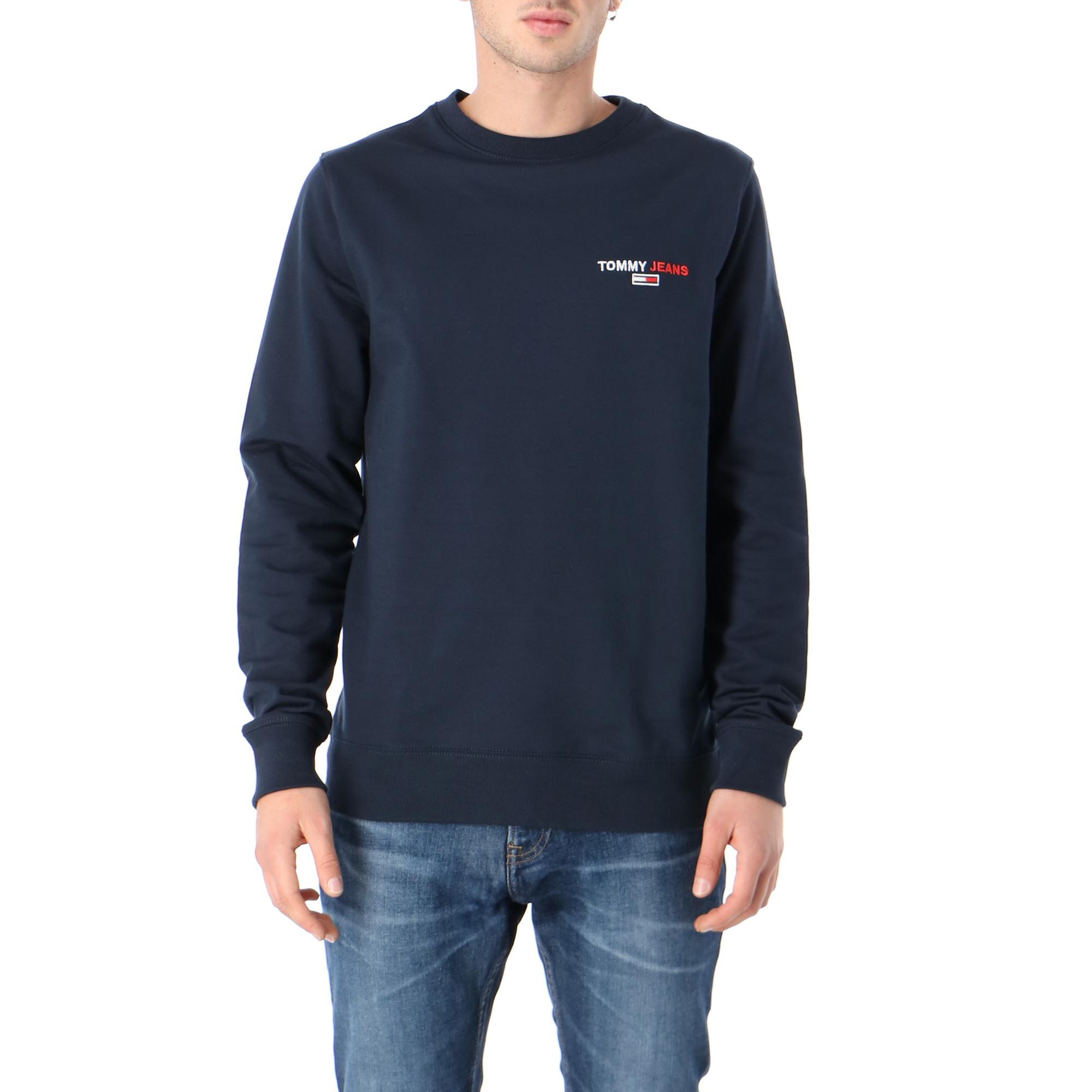 Tommy Hilfiger Tjm Tommy Chest Graphic Crew Twilight navy