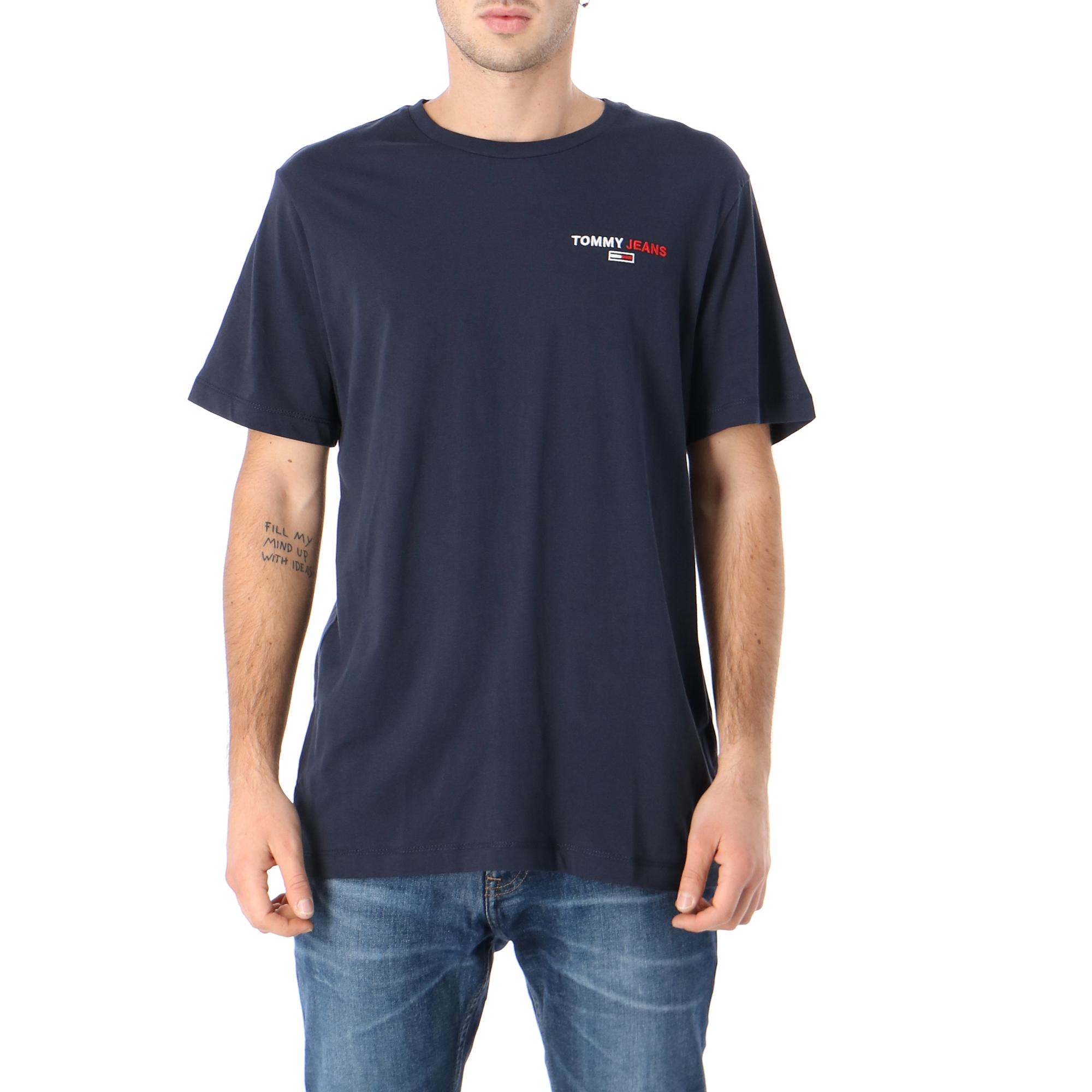 Tommy Hilfiger Tjm Ches Corp Tee Twilight navy