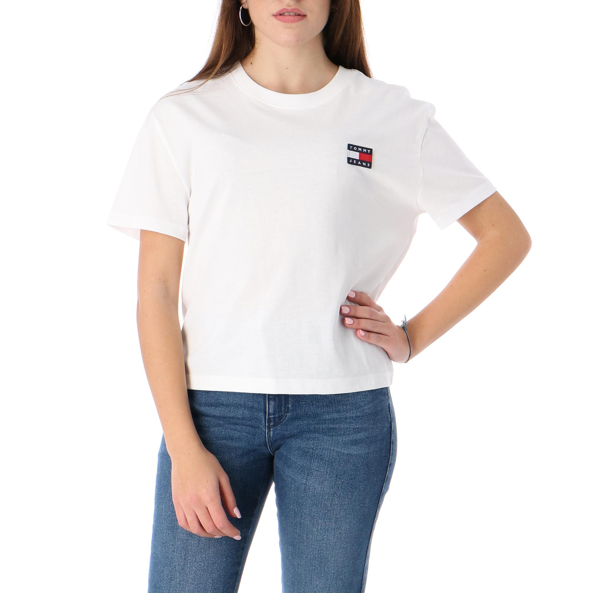 Tommy Hilfiger Tjw Tommy Badge Tee WHITE