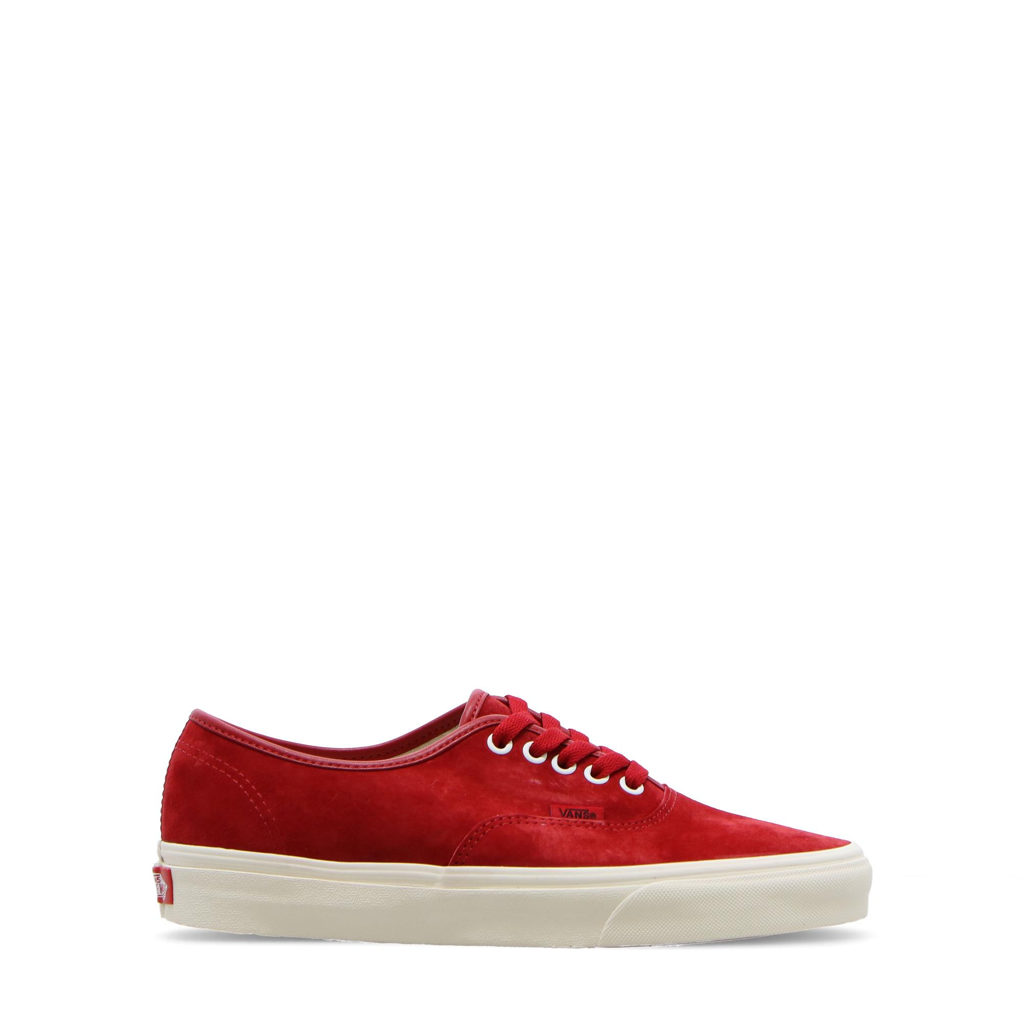 Vans Ua Authenitc (pig suede) chili pepper white