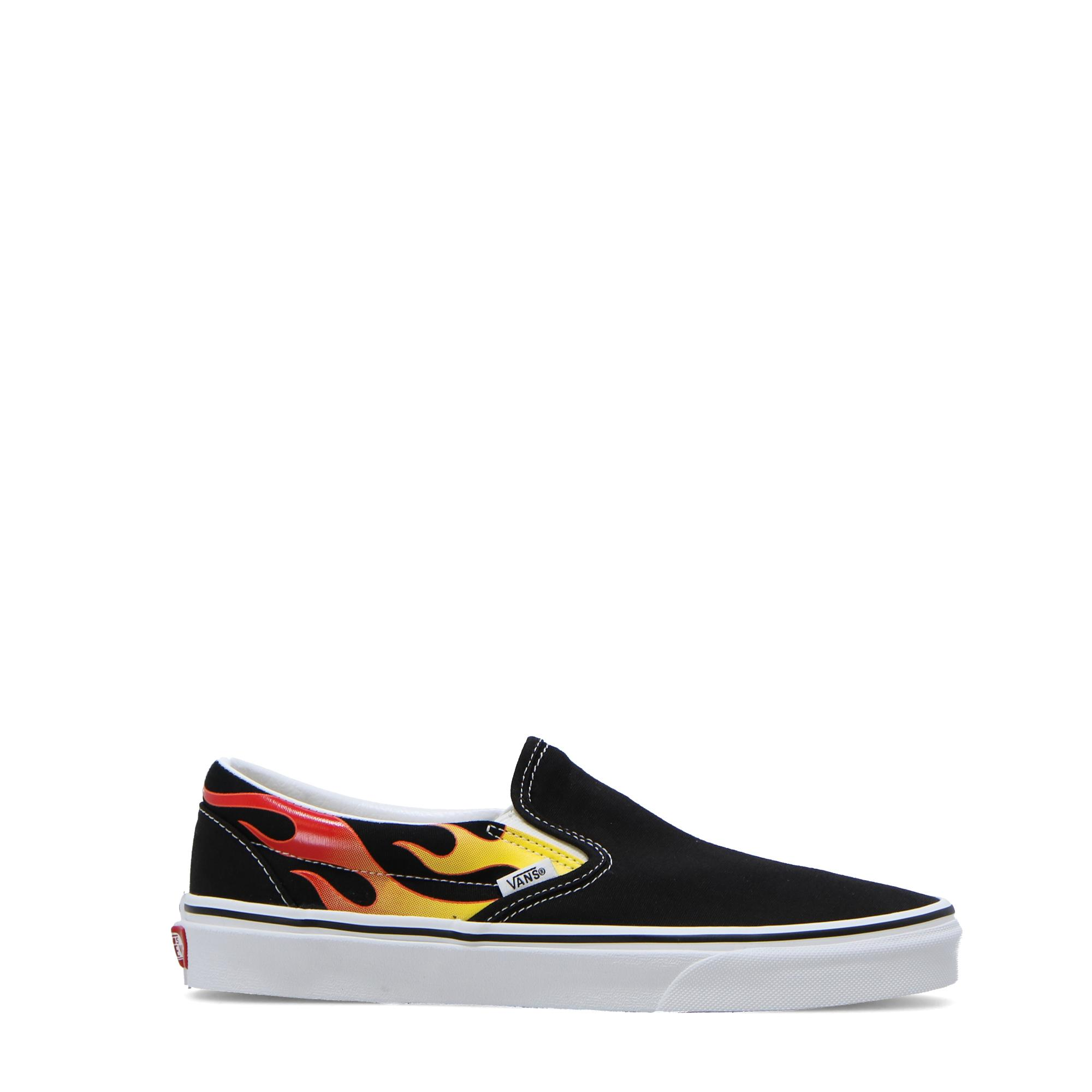Vans Ua Classic Slip-on Flame black black true white
