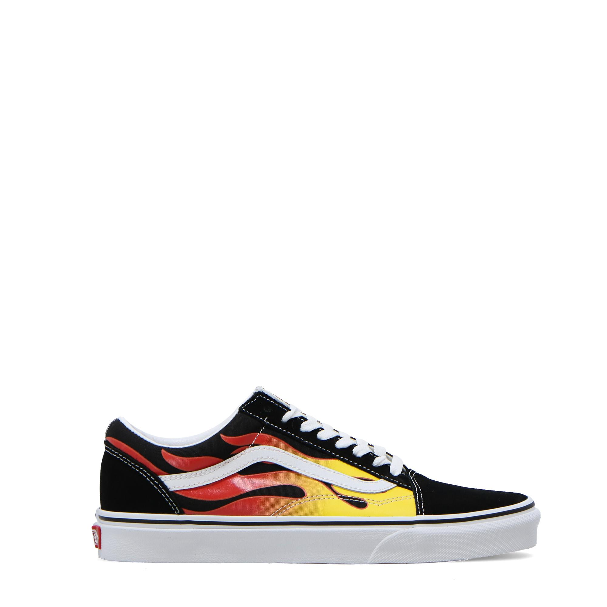 Vans Ua Old Skool Flame black black true white