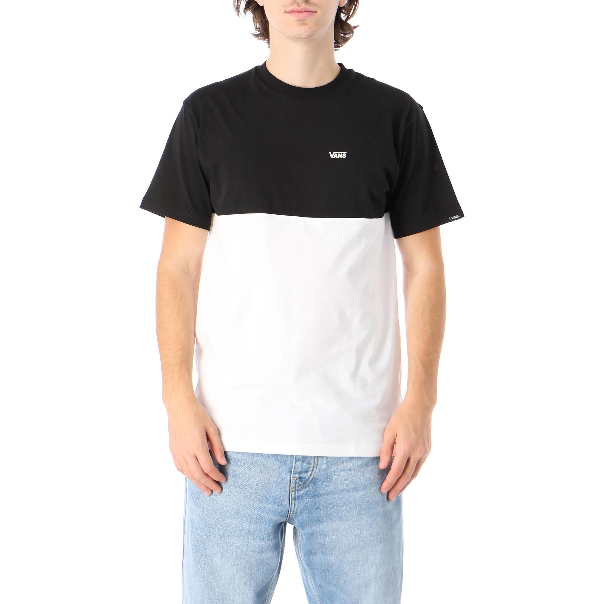 Vans Mn Colorblock Tee White black