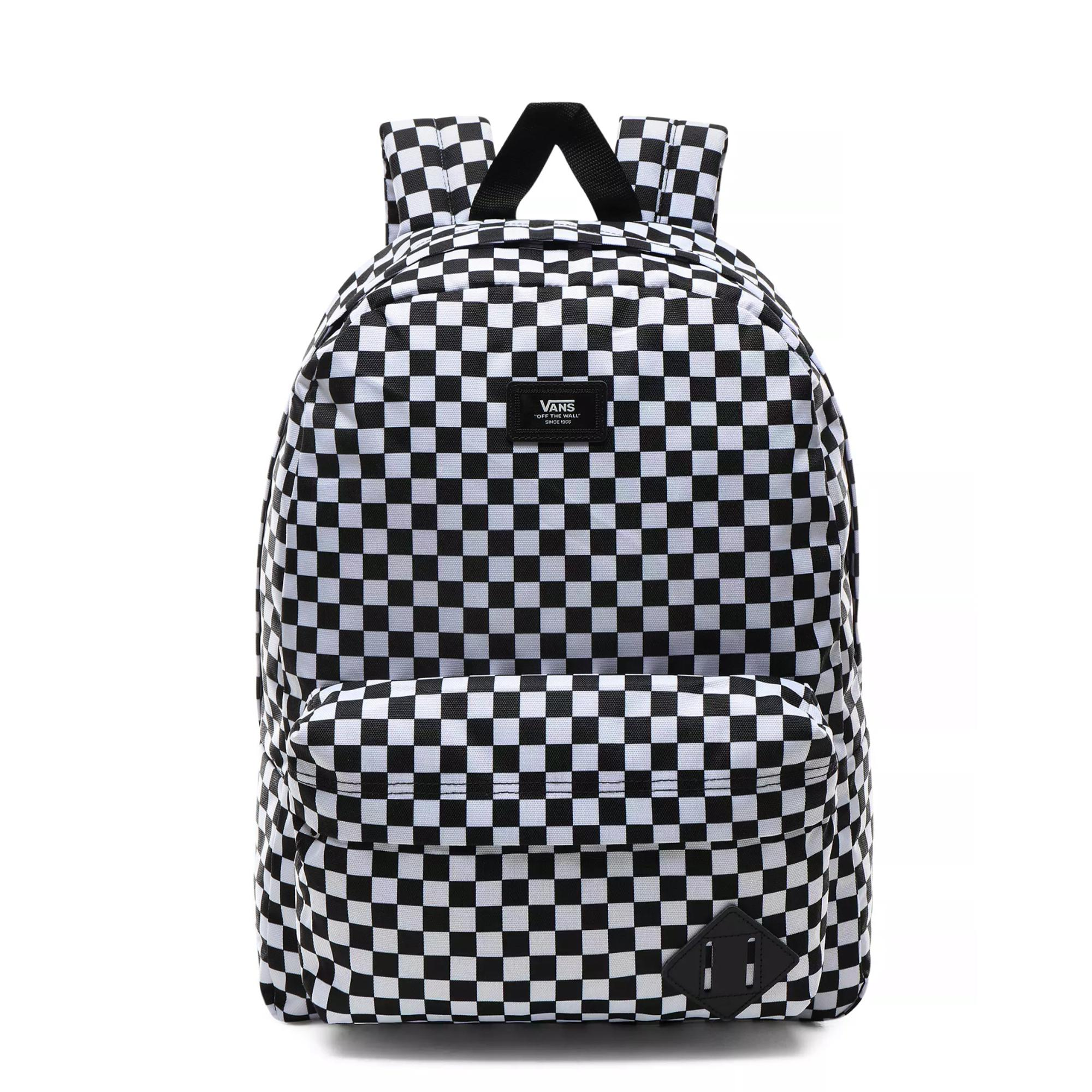 Vans Old Skool Iii Backpack Black white check