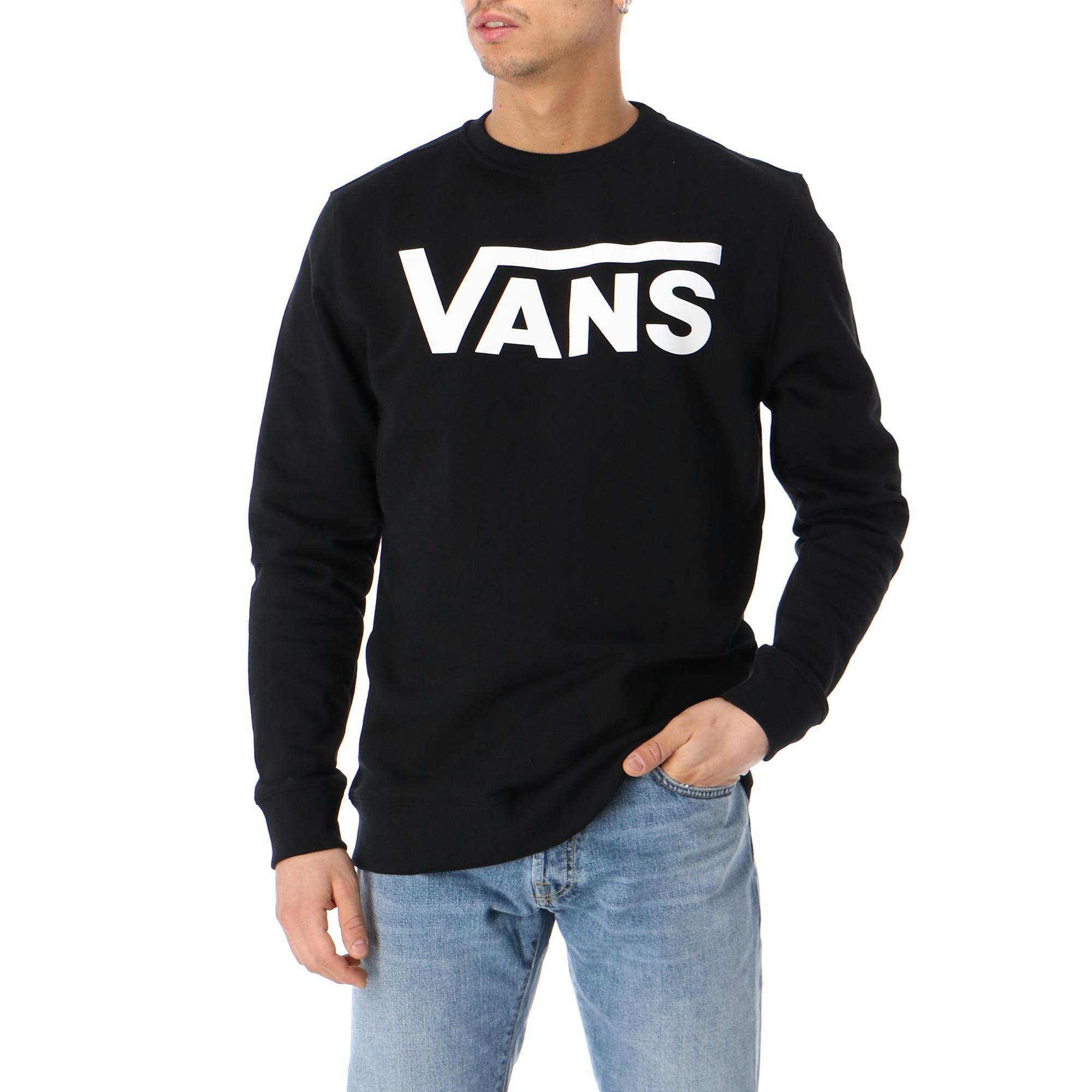 Vans Classic Crew Ii Black white