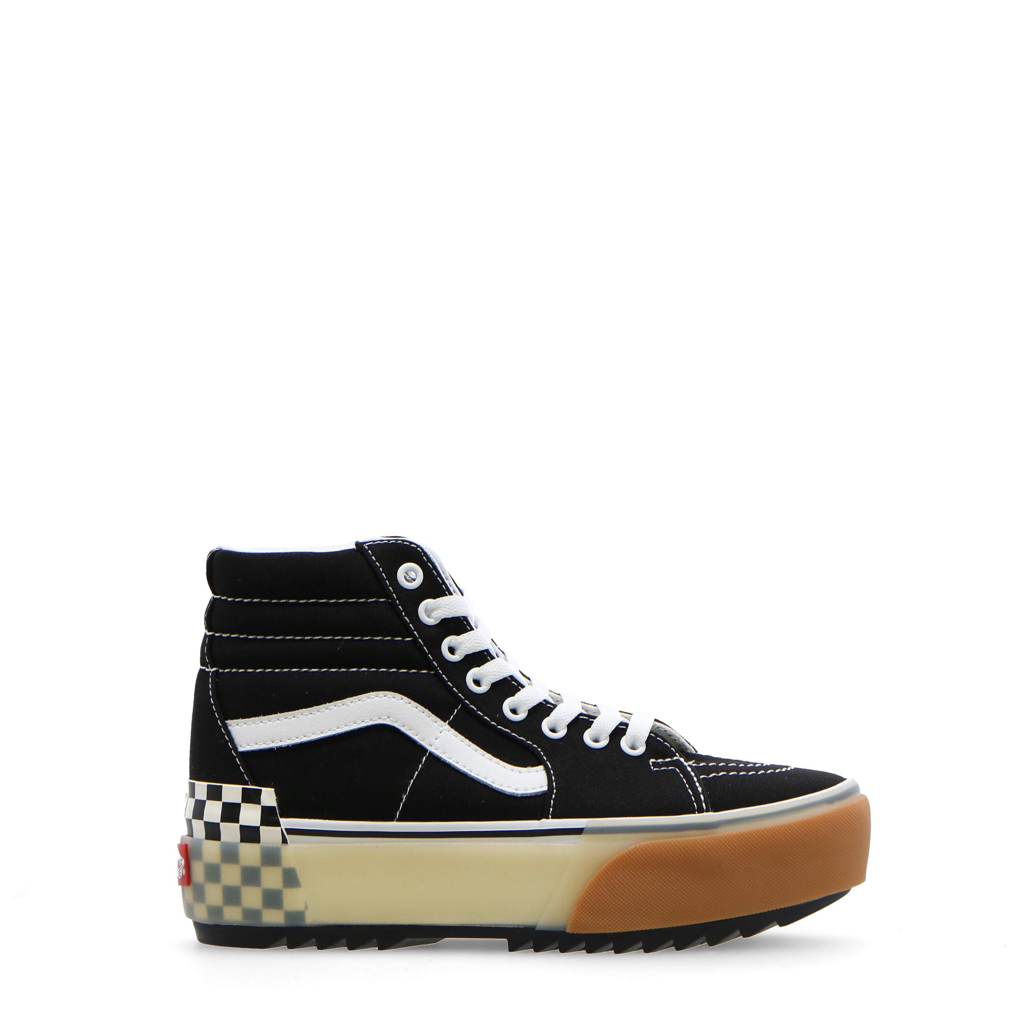 Vans Ua Sk8-hi Stacked Black checherboard