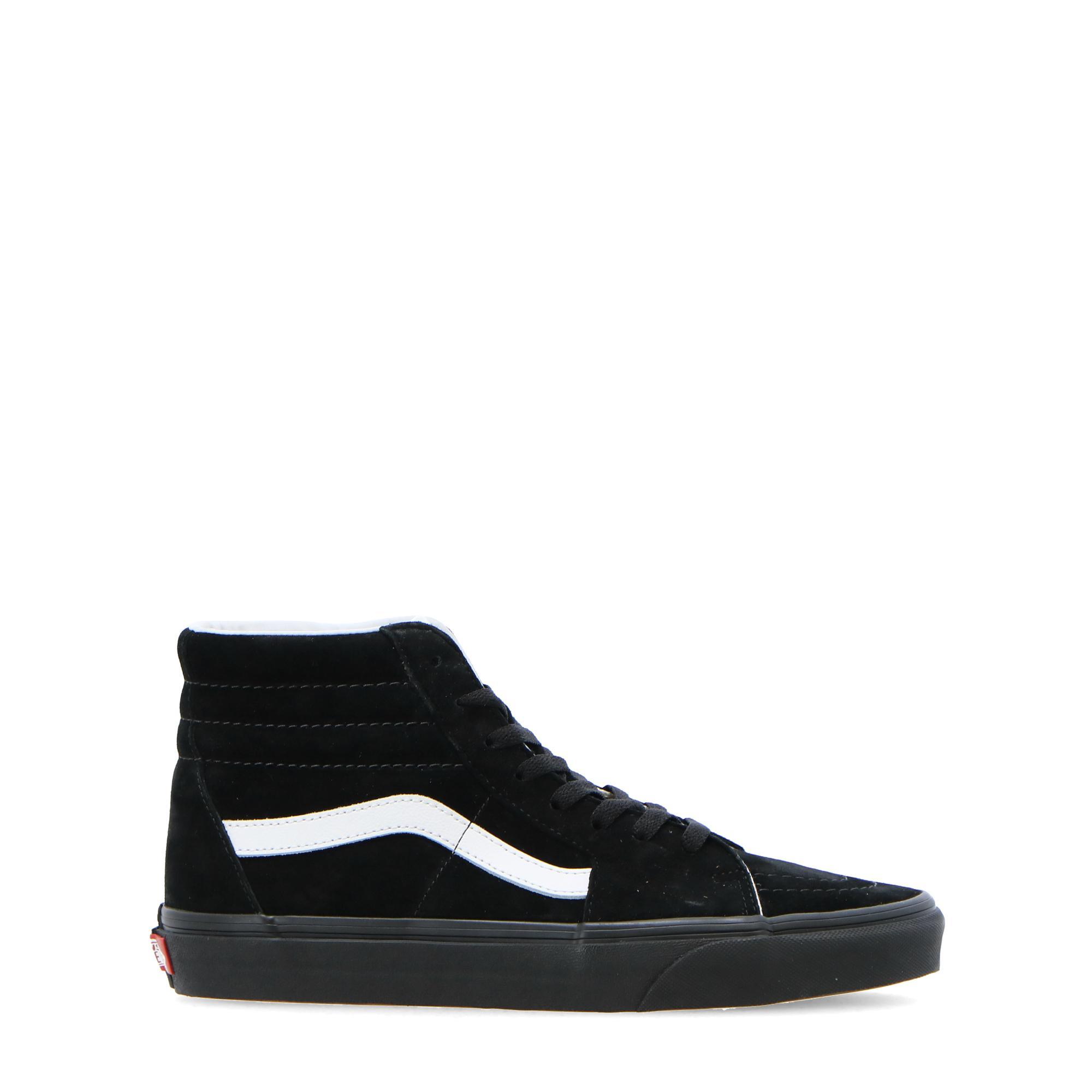 Vans Ua Sk8-hi (pig suede) black black