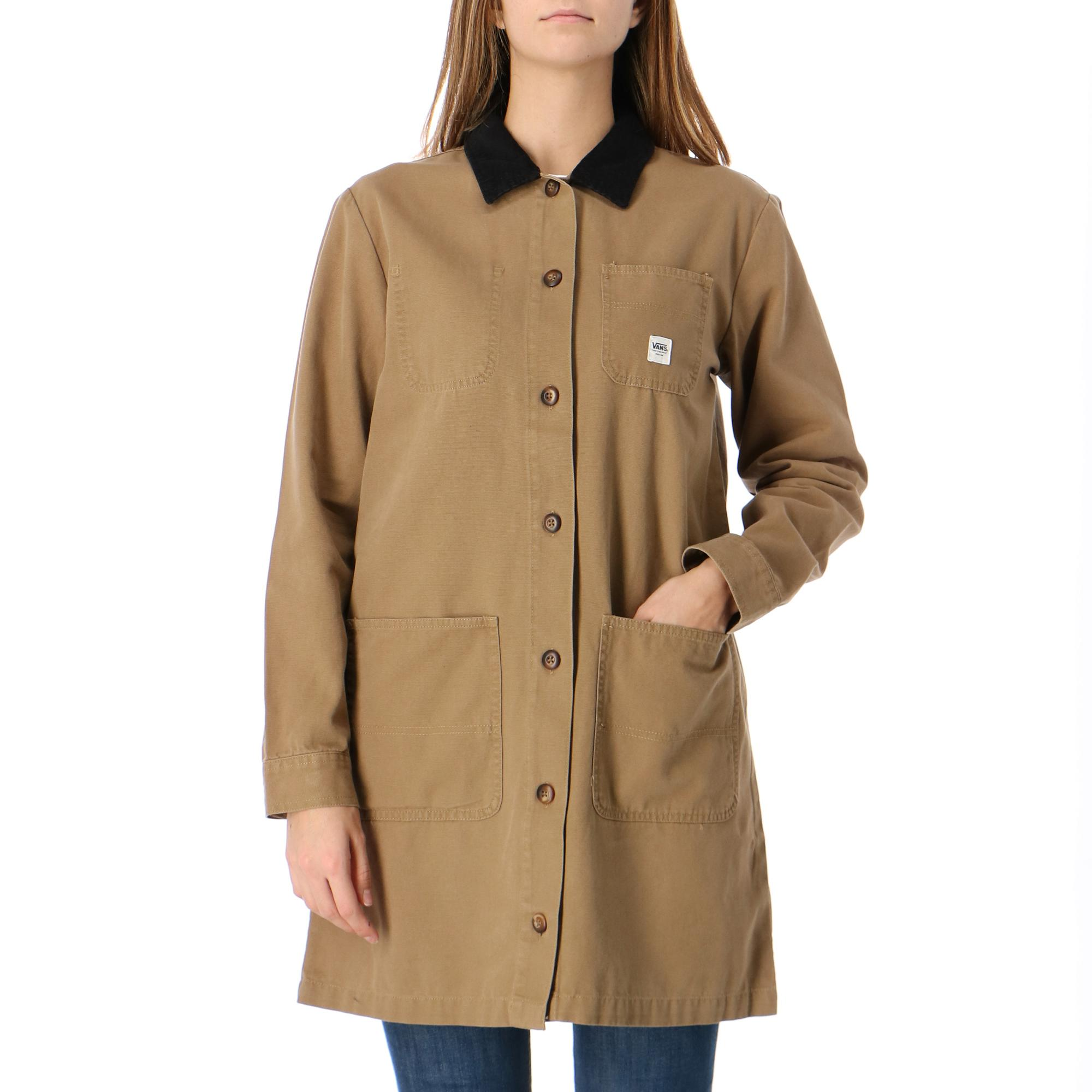 Vans Wm Drill Long Chore Coat Dirt