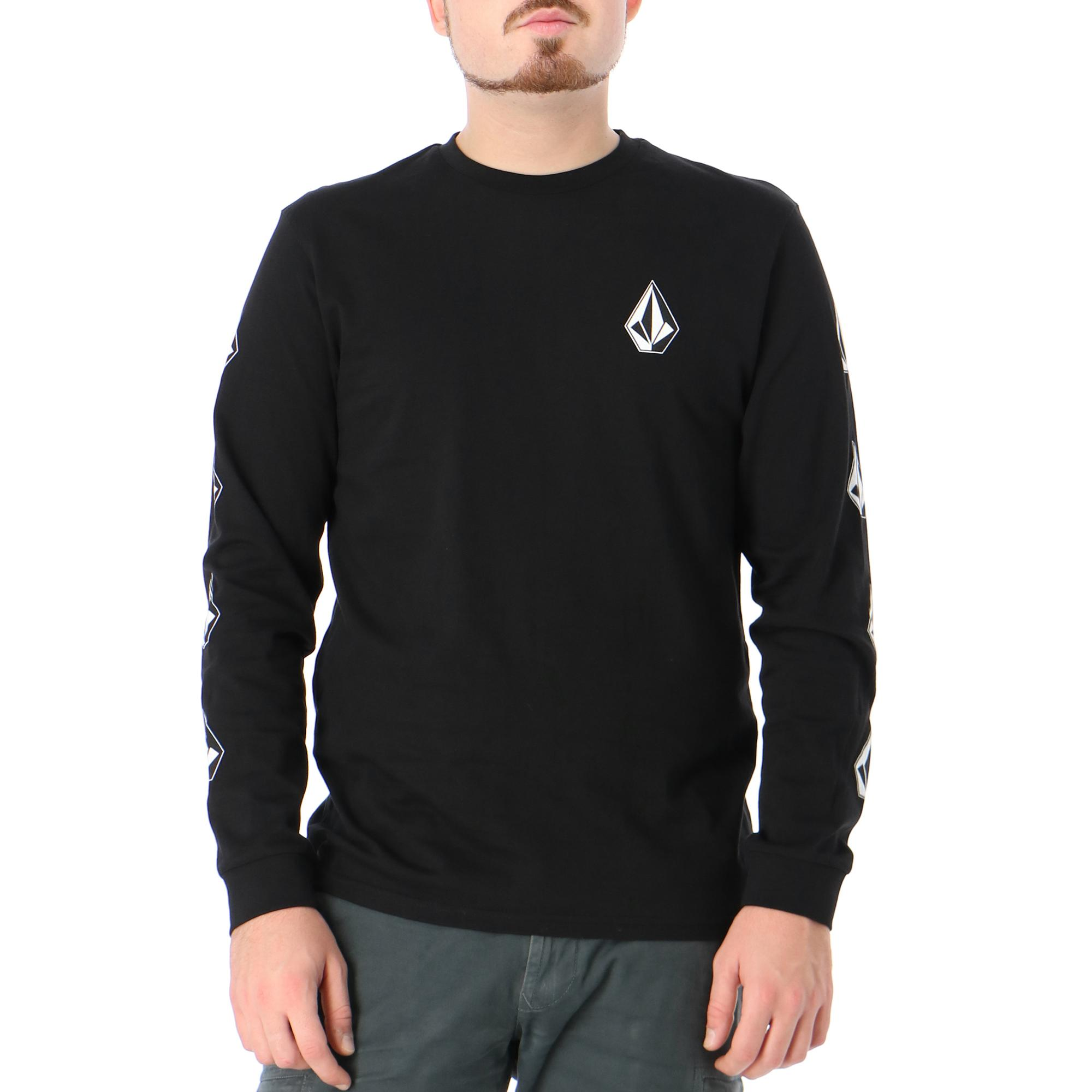 Volcom Deadly Stone Rlx Ls Black